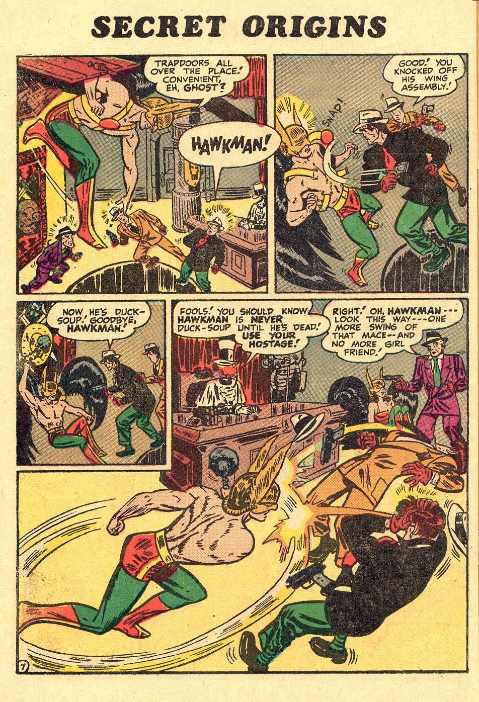 Read online Secret Origins (1973) comic -  Issue #1 - 14