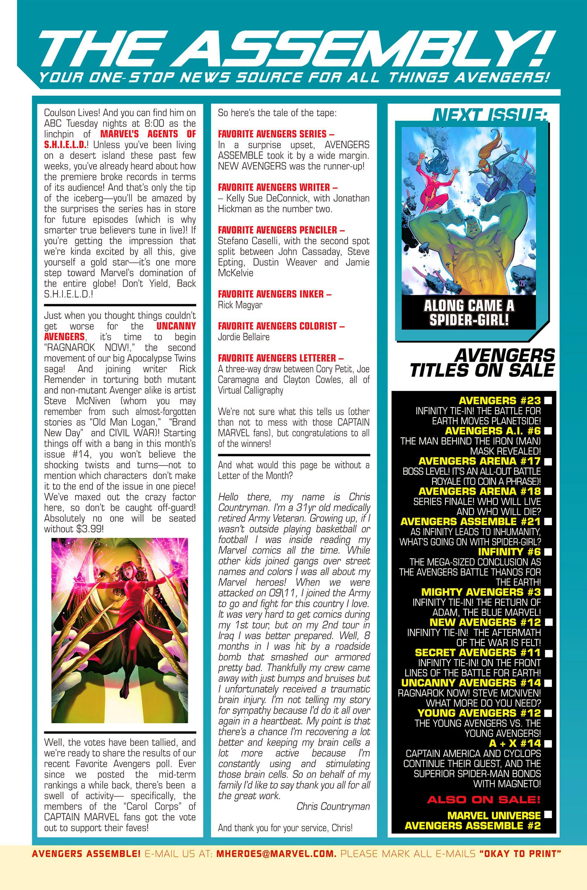 Read online Avengers Assemble (2012) comic -  Issue #21 - 23