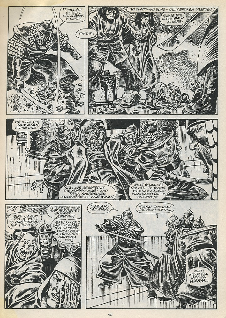 The Savage Sword Of Conan Issue #194 #195 - English 17