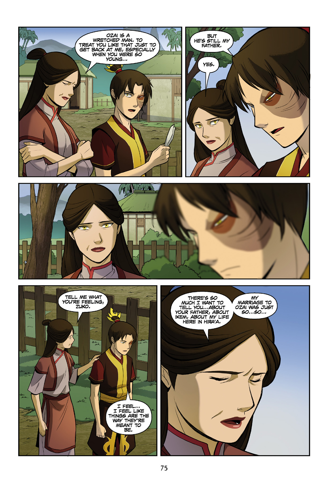 Read online Nickelodeon Avatar: The Last Airbender - The Search comic -  Issue # Part 3 - 75