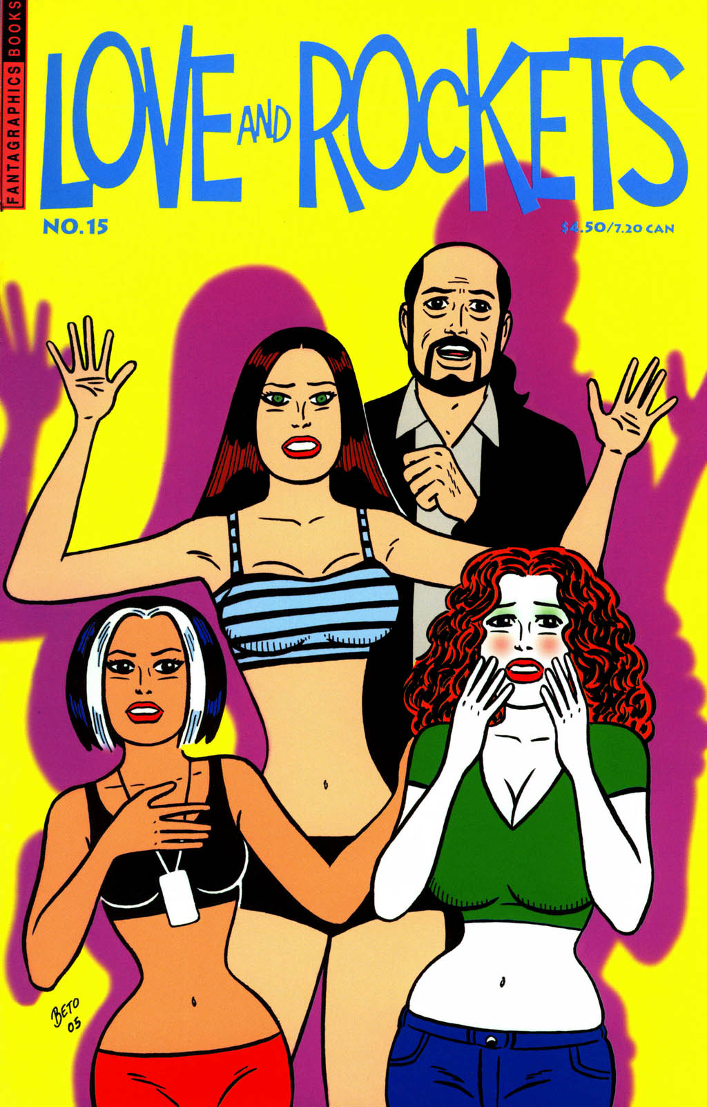 Read online Love and Rockets (2001) comic -  Issue #15 - 1