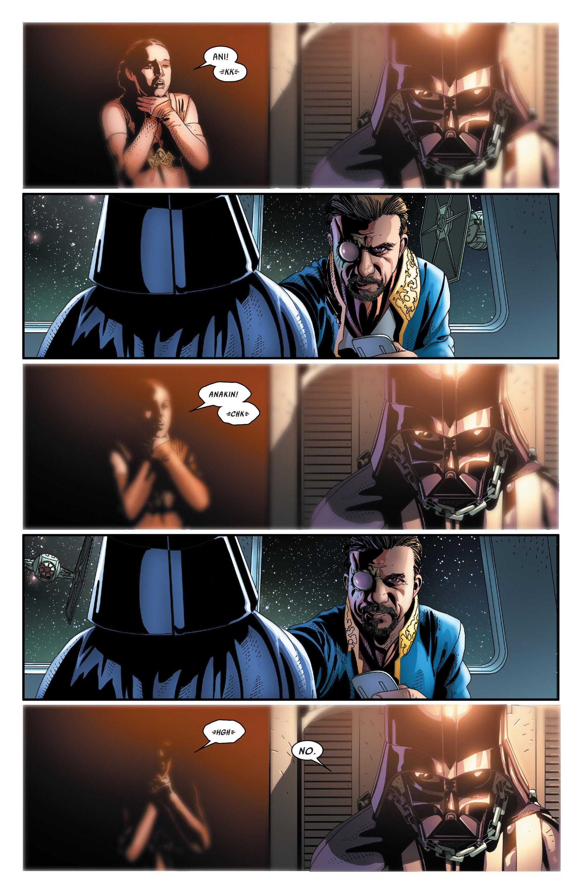 Read online Darth Vader comic -  Issue #24 - 16
