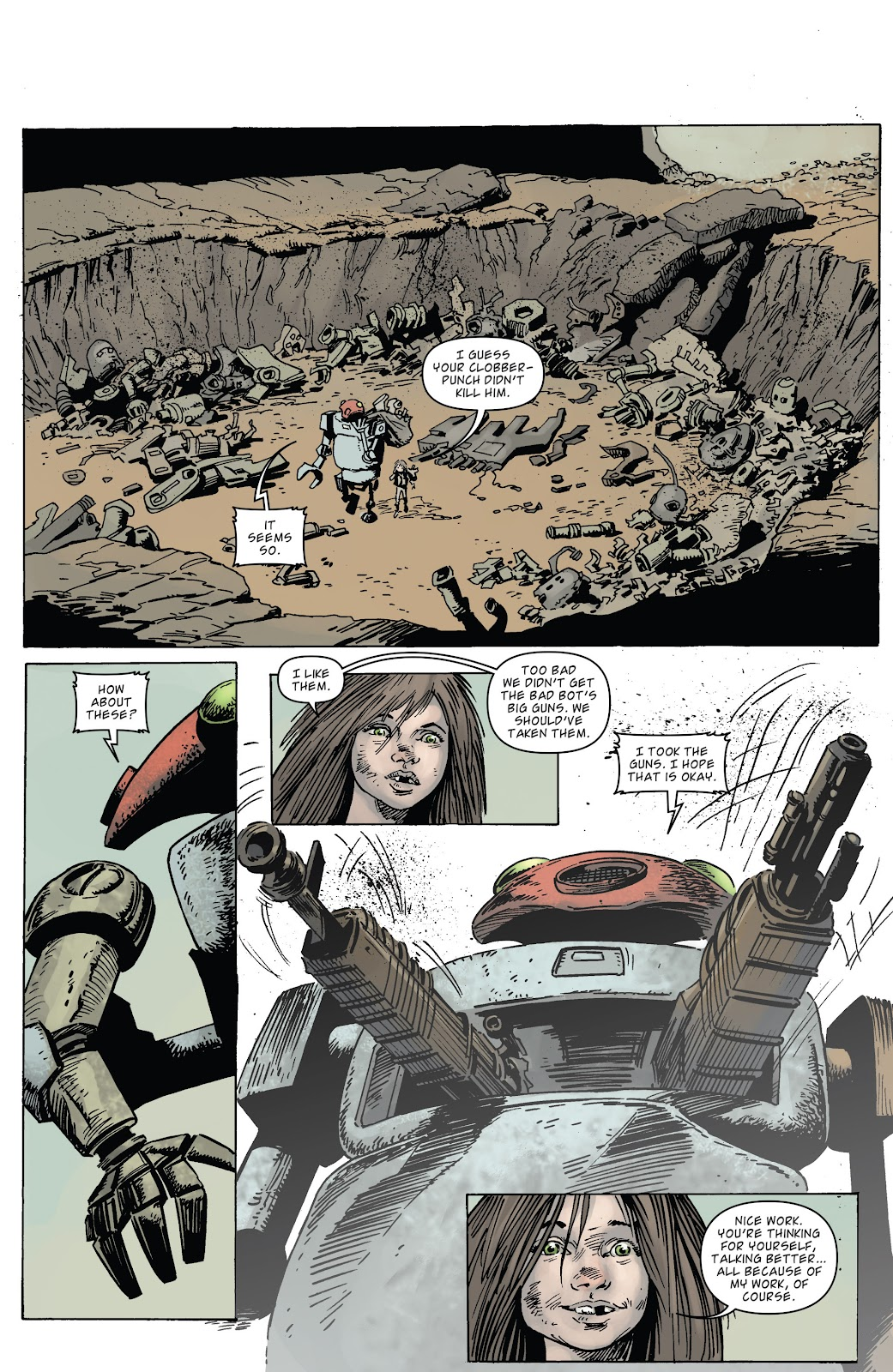 Zombies vs Robots (2015) Issue #3 Page 21