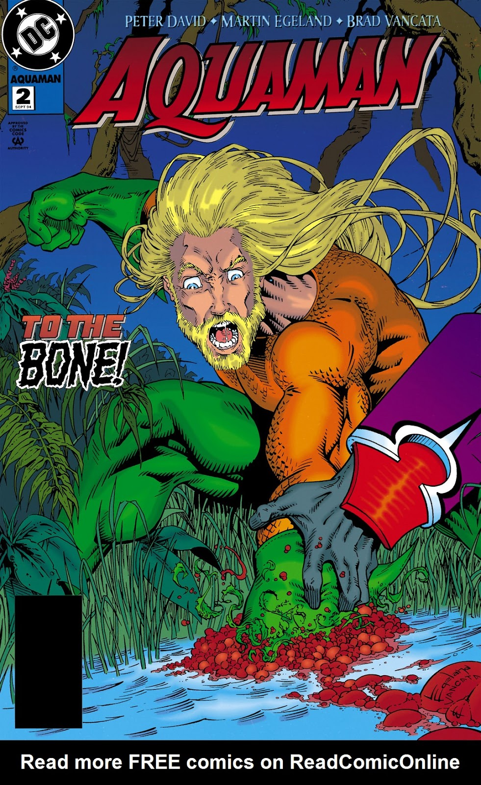Aquaman (1994) Issue #2 #8 - English 1