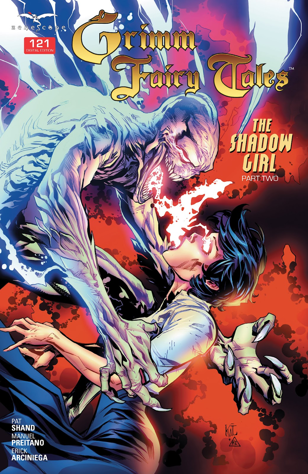 Grimm Fairy Tales (2005) Issue #121 #124 - English 1