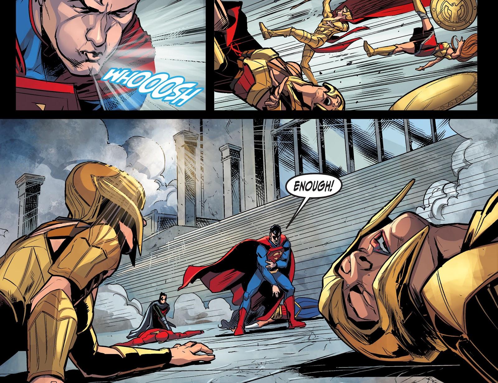 Injustice: Gods Among Us Year Four Issue #10 #11 - English 21