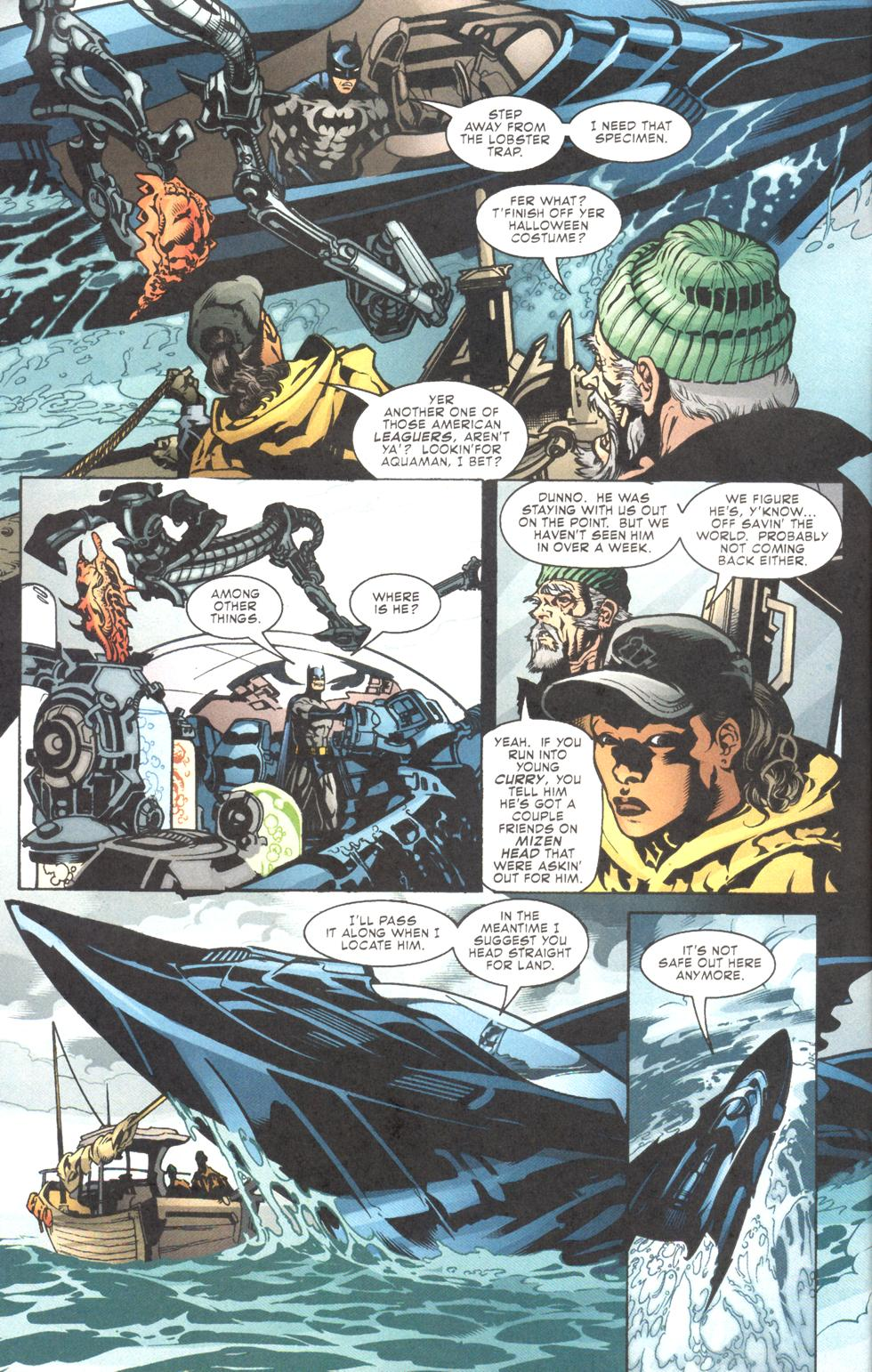 Aquaman (2003) Issue #11 #11 - English 3