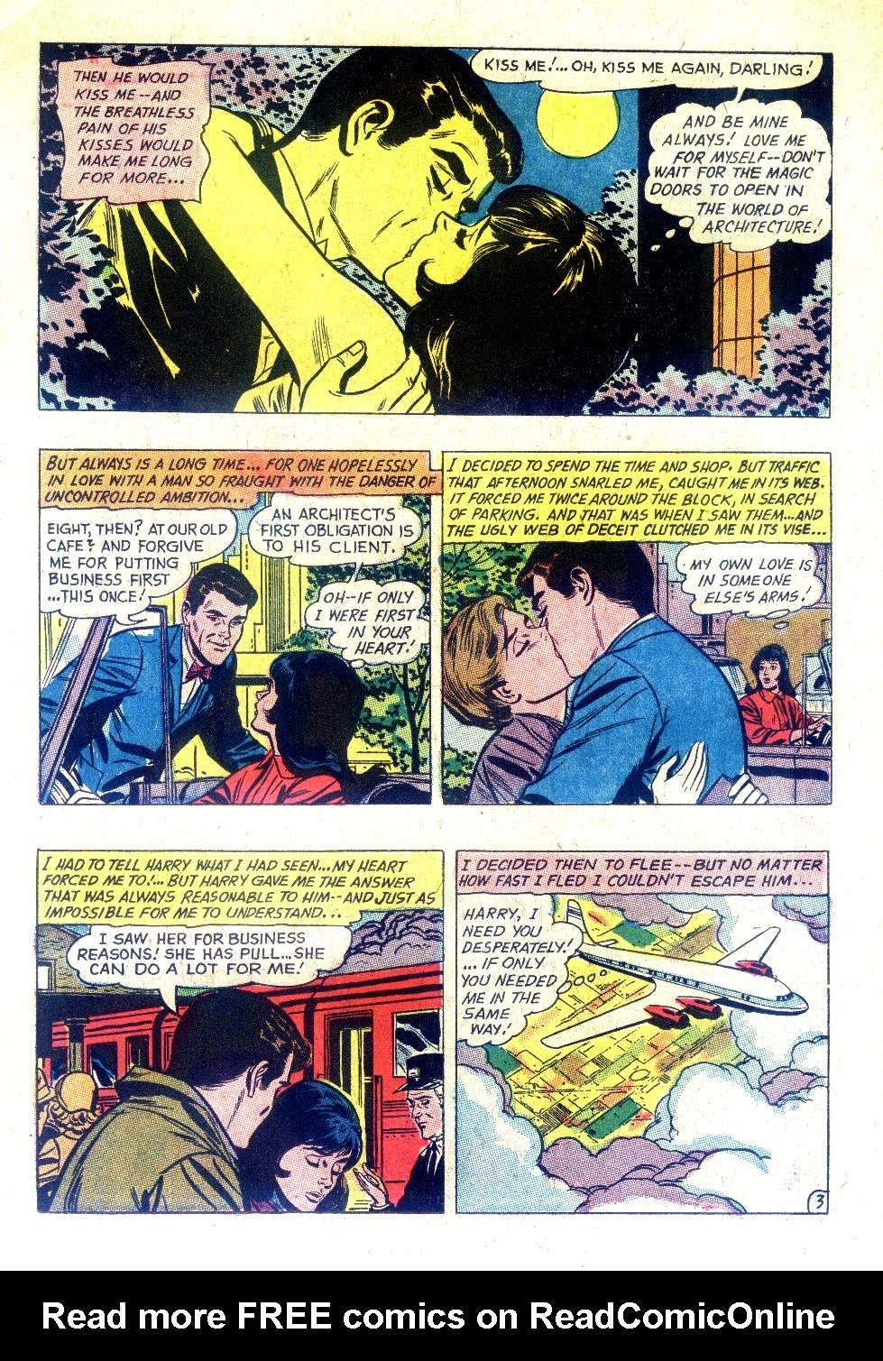 Read online Secret Hearts comic -  Issue #128 - 11