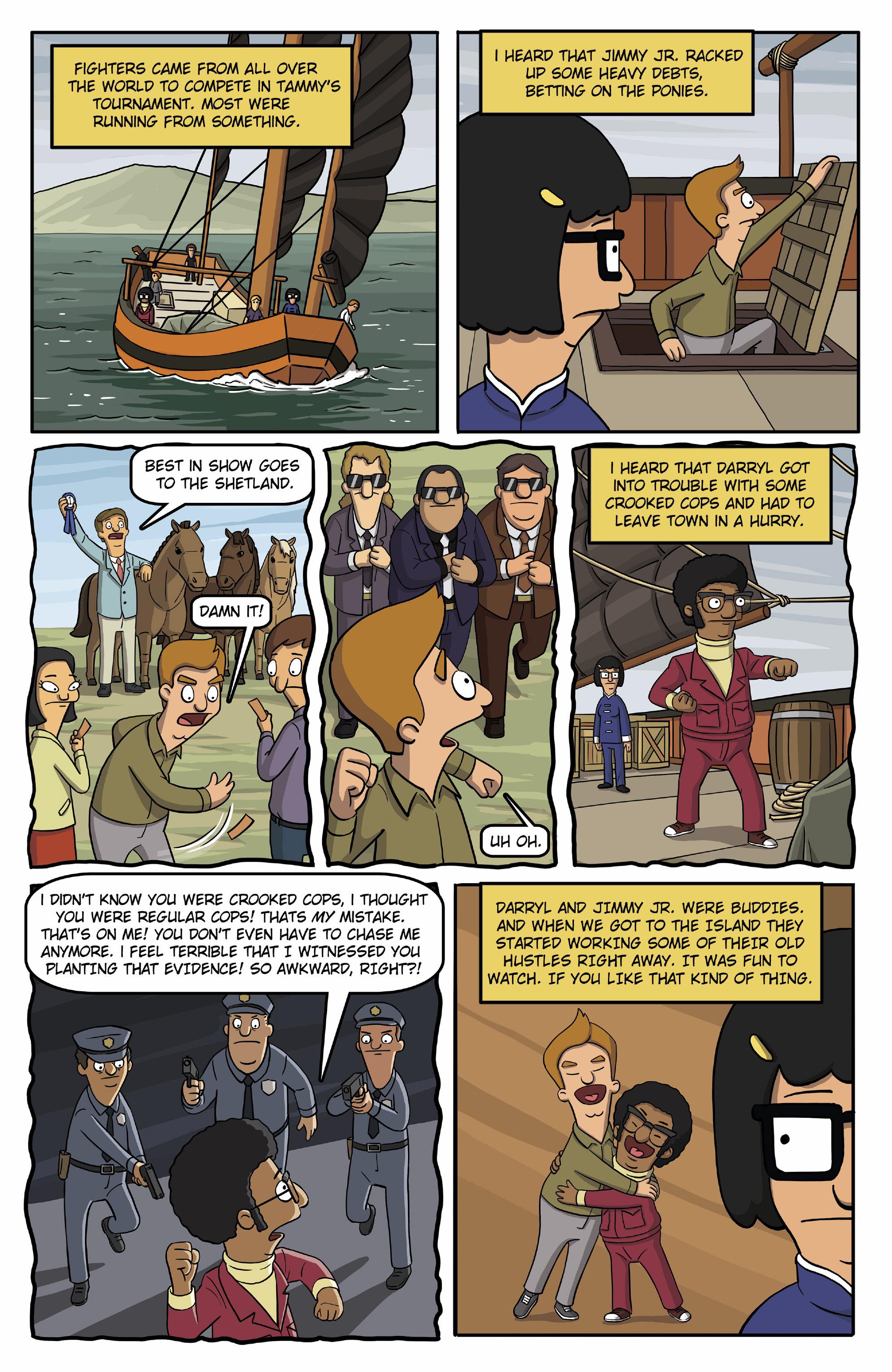 Read online Bob's Burgers (2015) comic -  Issue #13 - 8