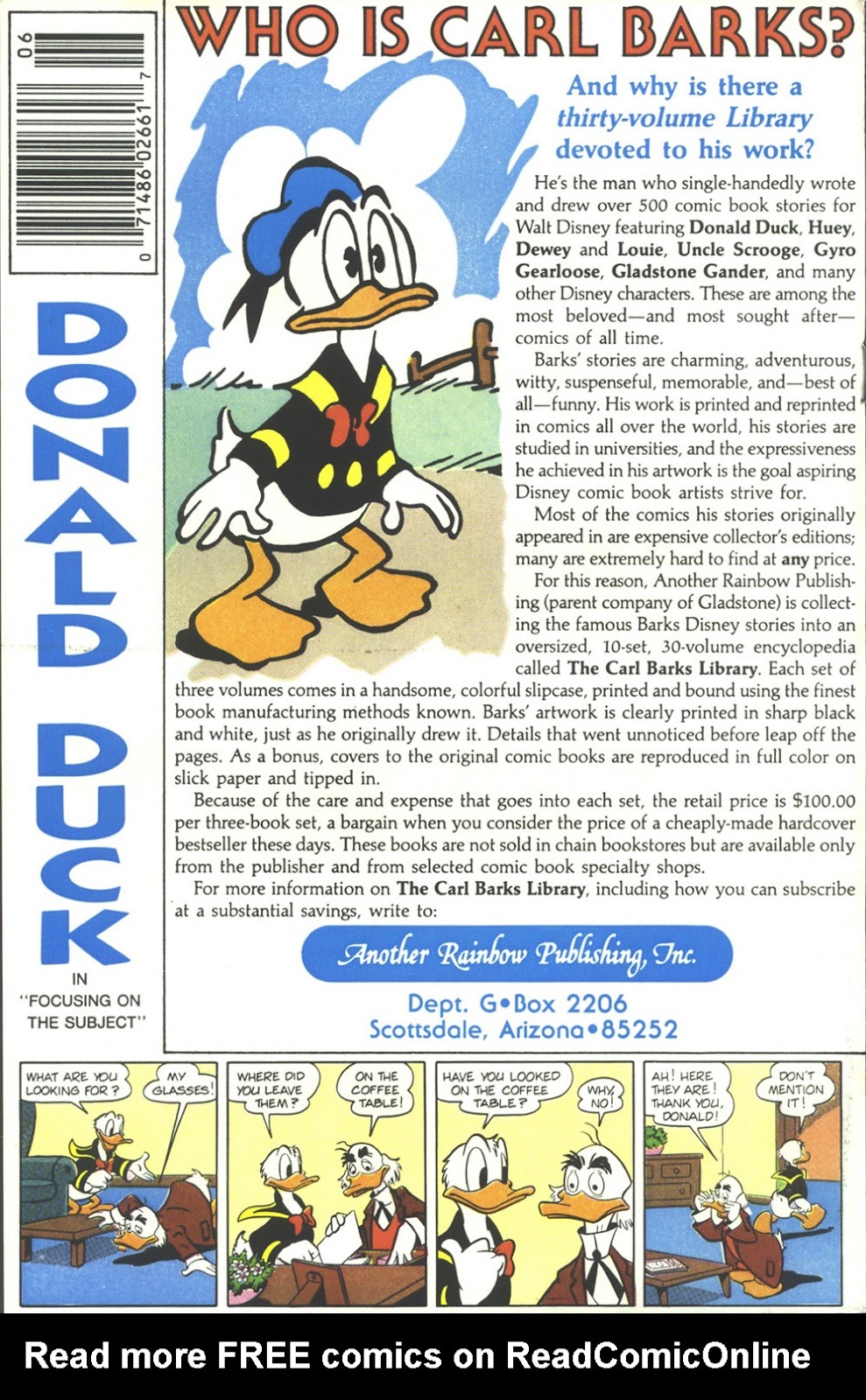 Uncle Scrooge (1953) Issue #218 #218 - English 36
