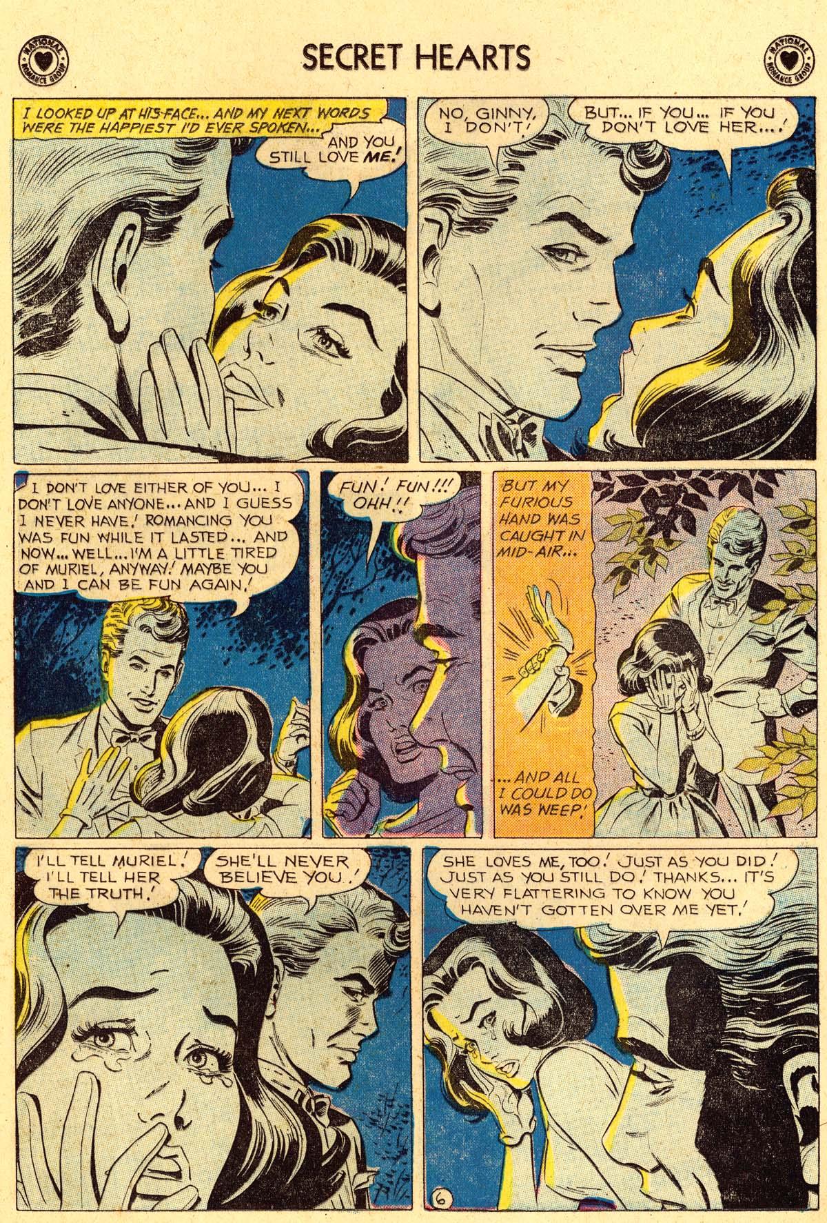 Read online Secret Hearts comic -  Issue #62 - 8