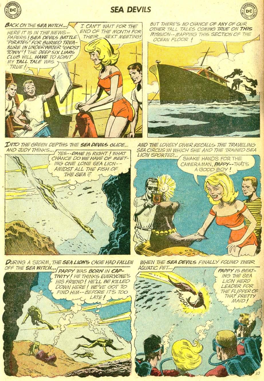 Read online Sea Devils comic -  Issue #10 - 15