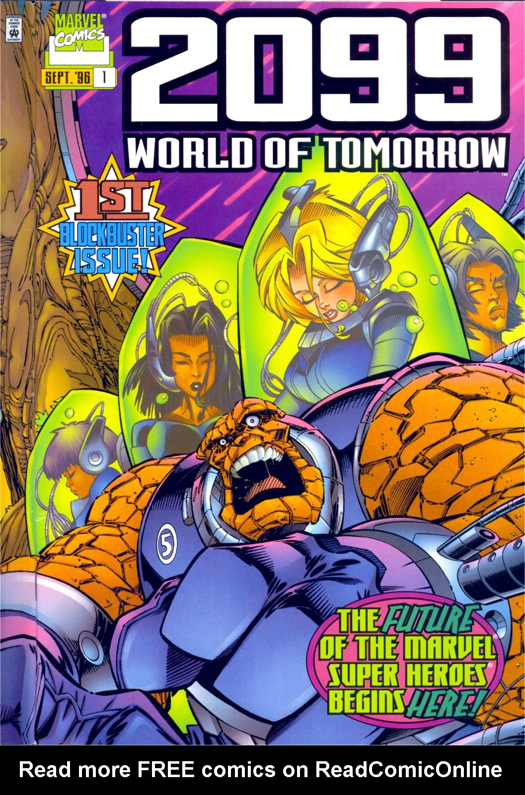 2099: World of Tomorrow 1 Page 1