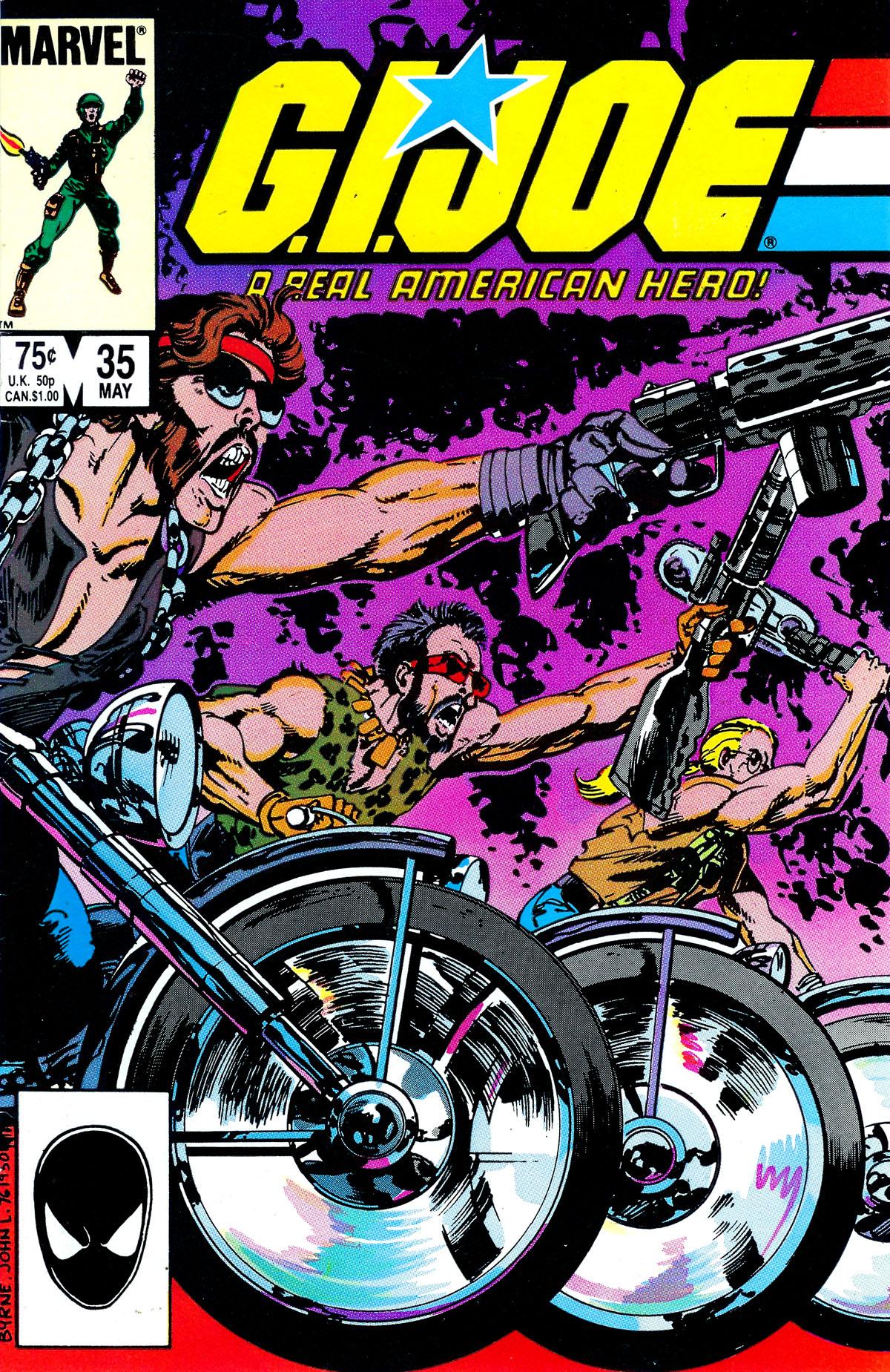 G.I. Joe: A Real American Hero 35 Page 1