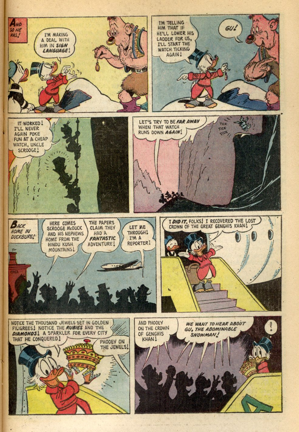 Uncle Scrooge (1953) Issue #84 #84 - English 25