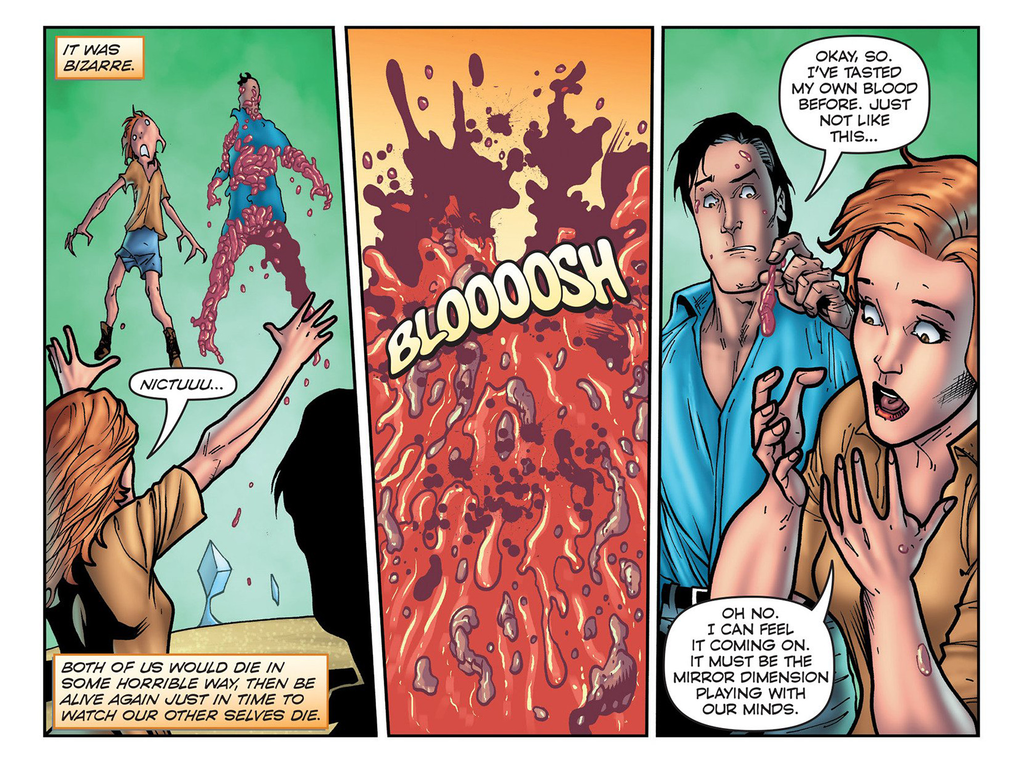 Read online Evil Dead 2: Cradle of the Damned comic -  Issue #3 - 13