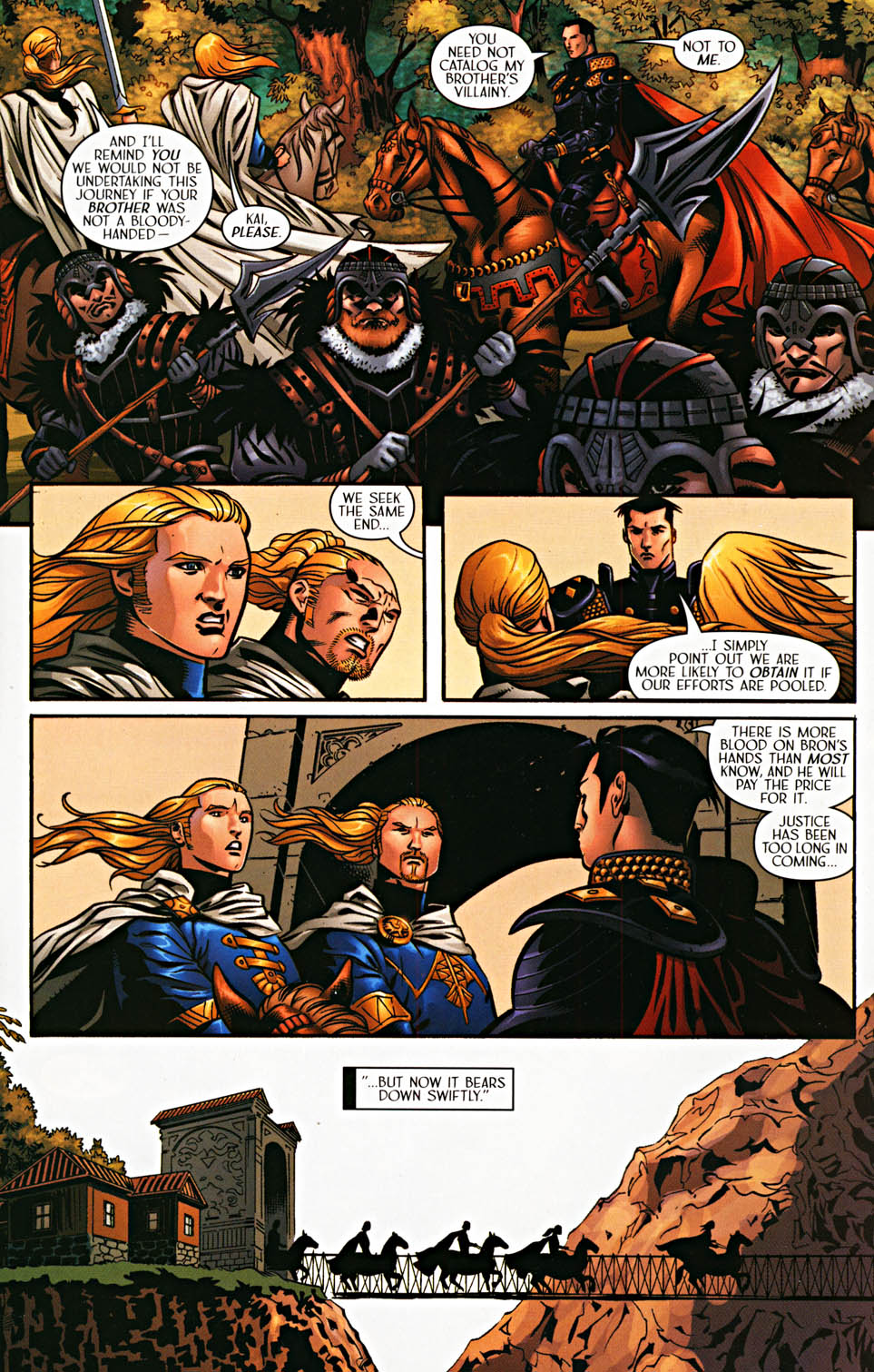 Read online Scion comic -  Issue #37 - 11