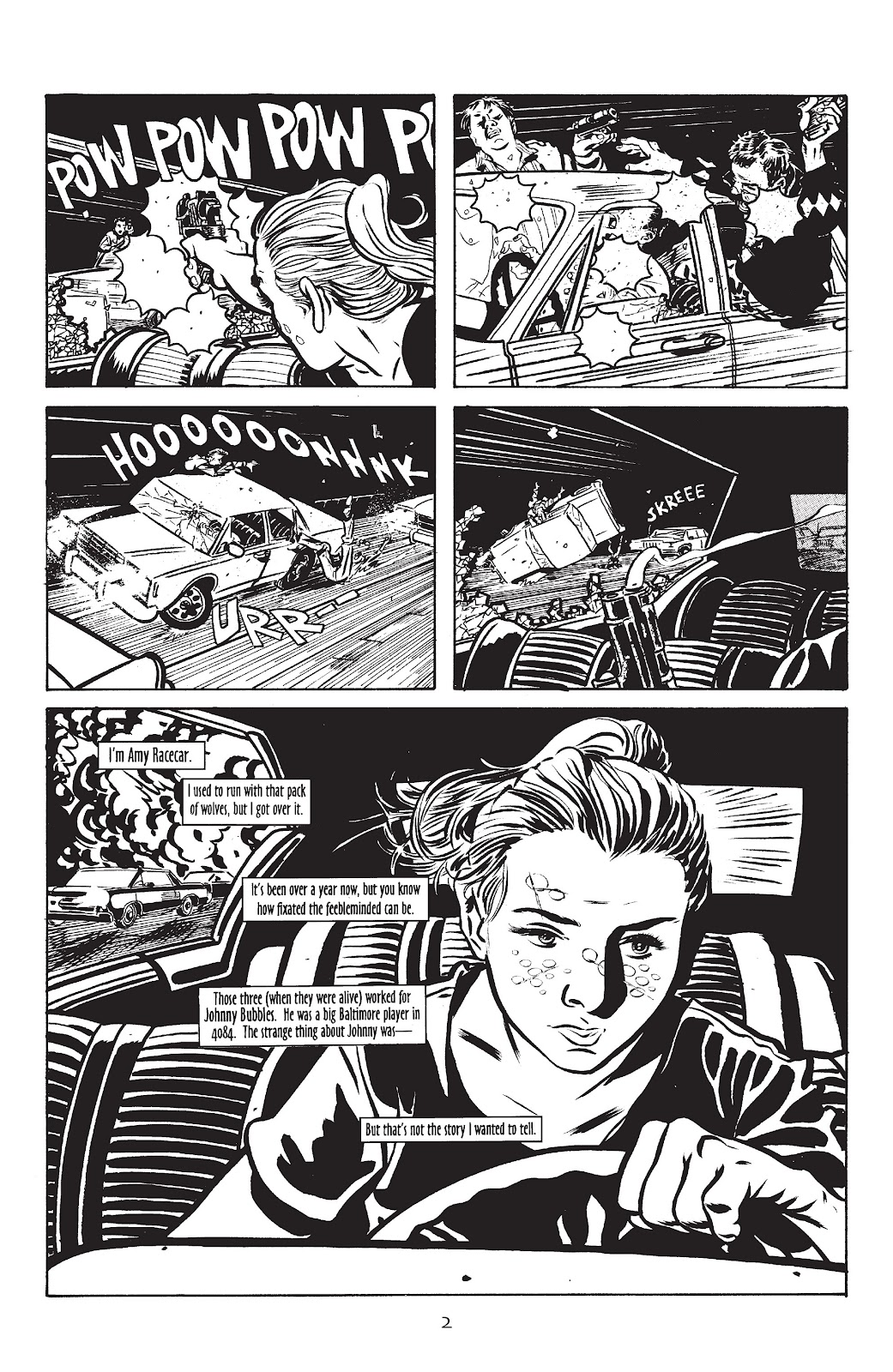 Stray Bullets Issue #10 #10 - English 4
