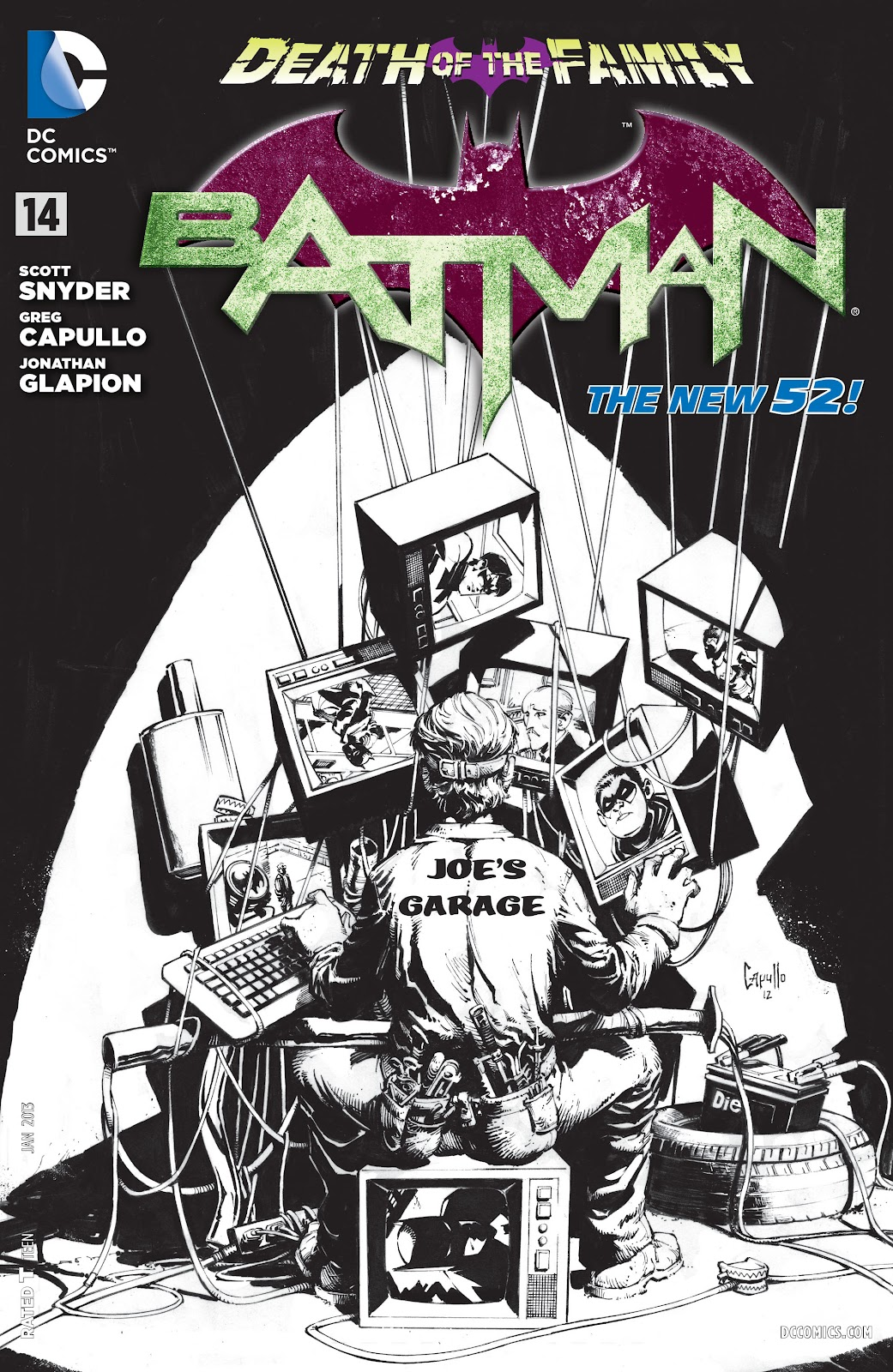 Batman (2011) Issue #14 #29 - English 30