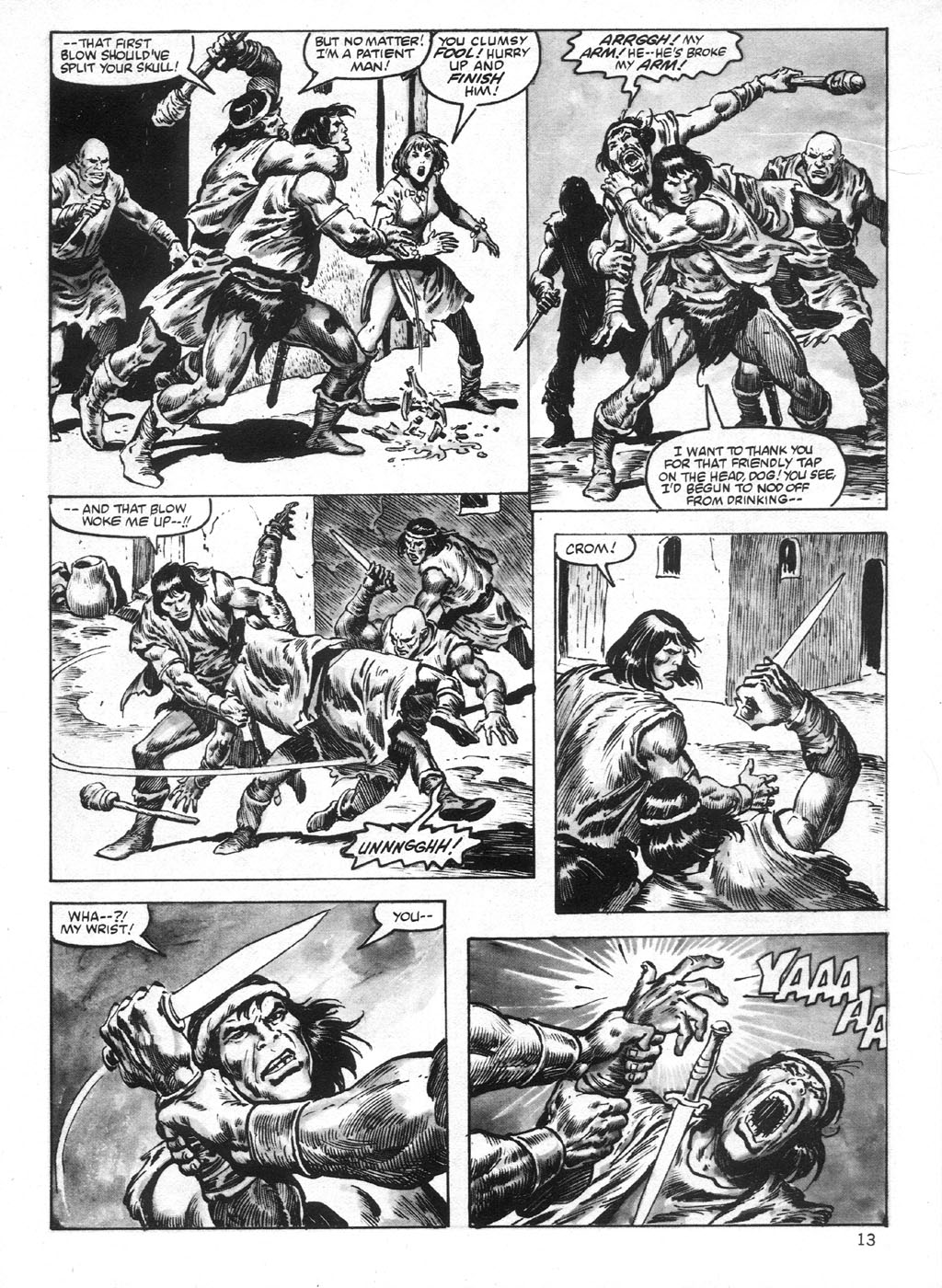 The Savage Sword Of Conan Issue #95 #96 - English 13