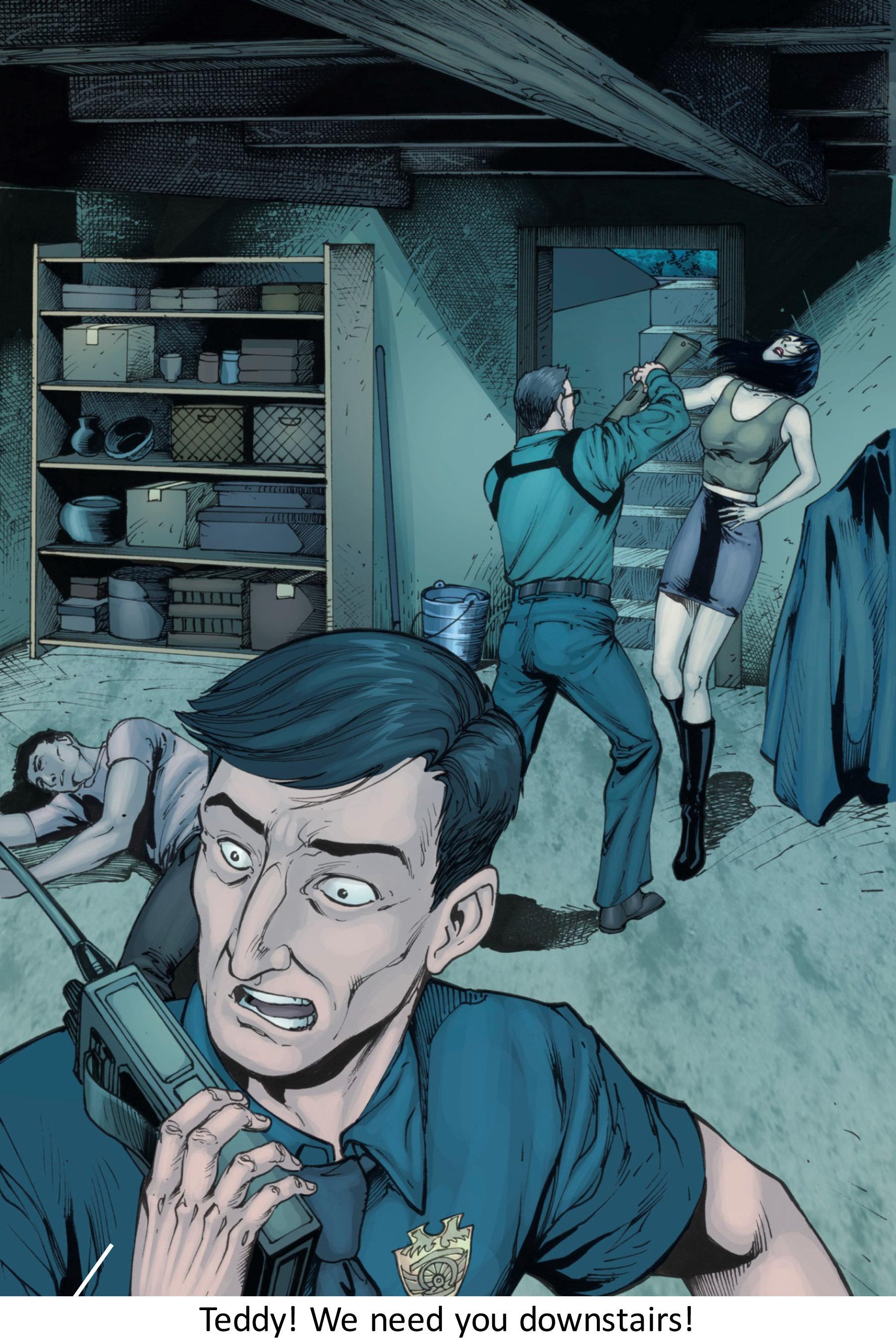 Read online Z-Men comic -  Issue #3 - 90