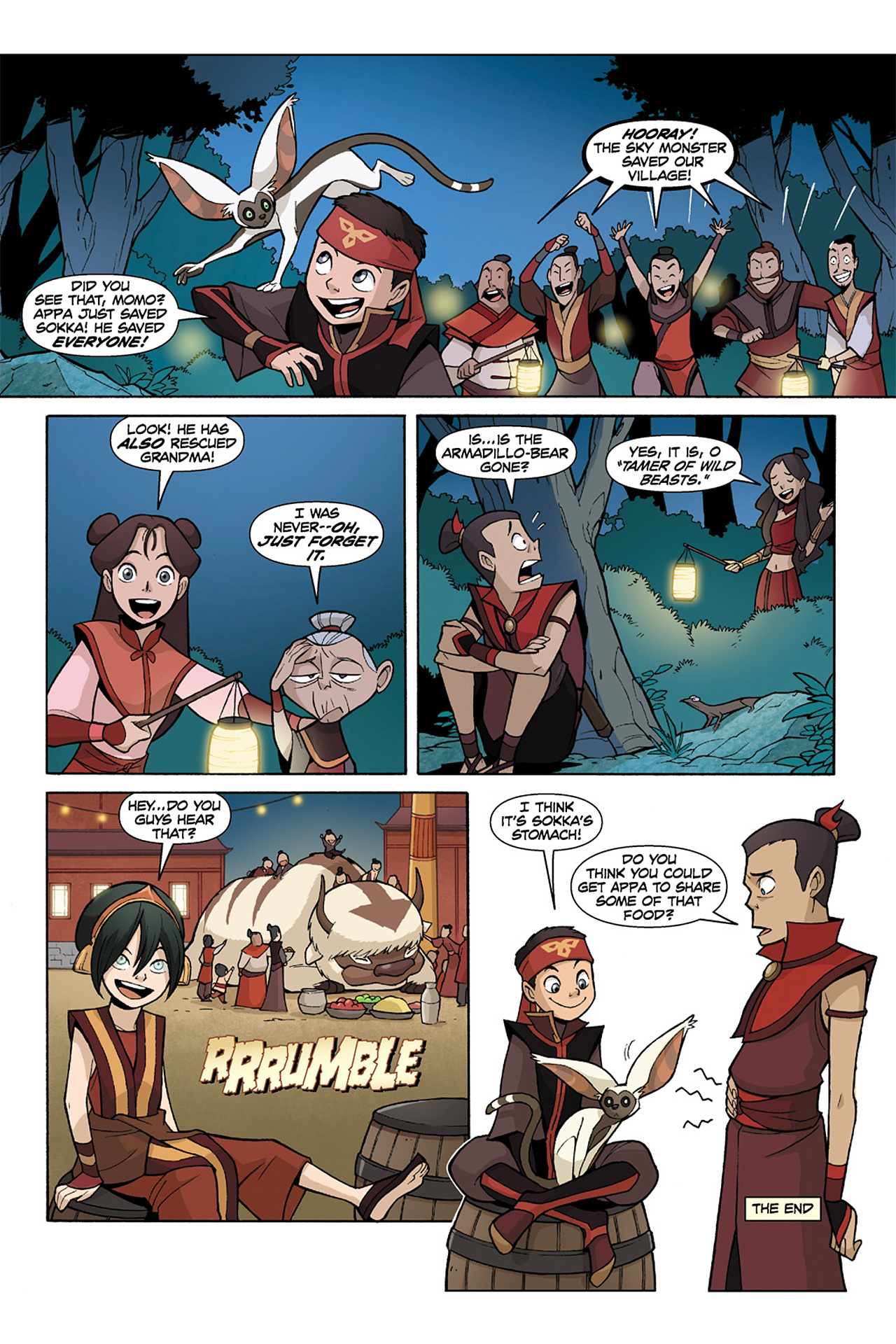 Nickelodeon Avatar: The Last Airbender - The Lost Adventures chap full pic 163