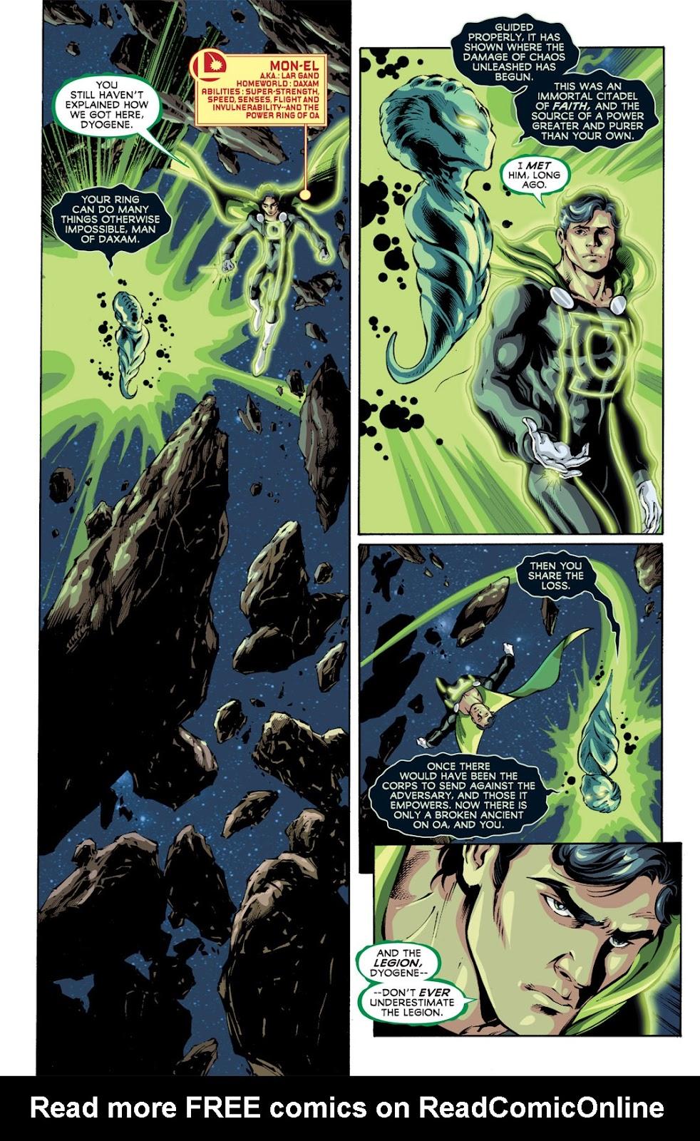 Legion of Super-Heroes (2010) Issue #12 #13 - English 16