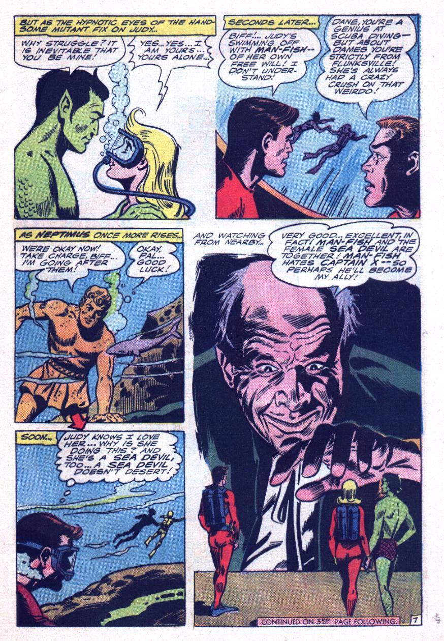 Read online Sea Devils comic -  Issue #26 - 10