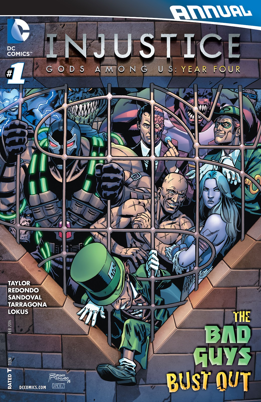 Injustice: Gods Among Us Year Four _Annual 1 #1 - English 1