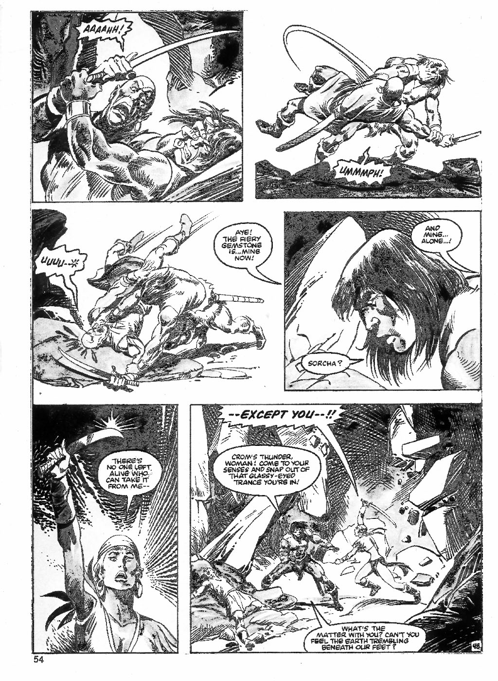 The Savage Sword Of Conan Issue #98 #99 - English 54