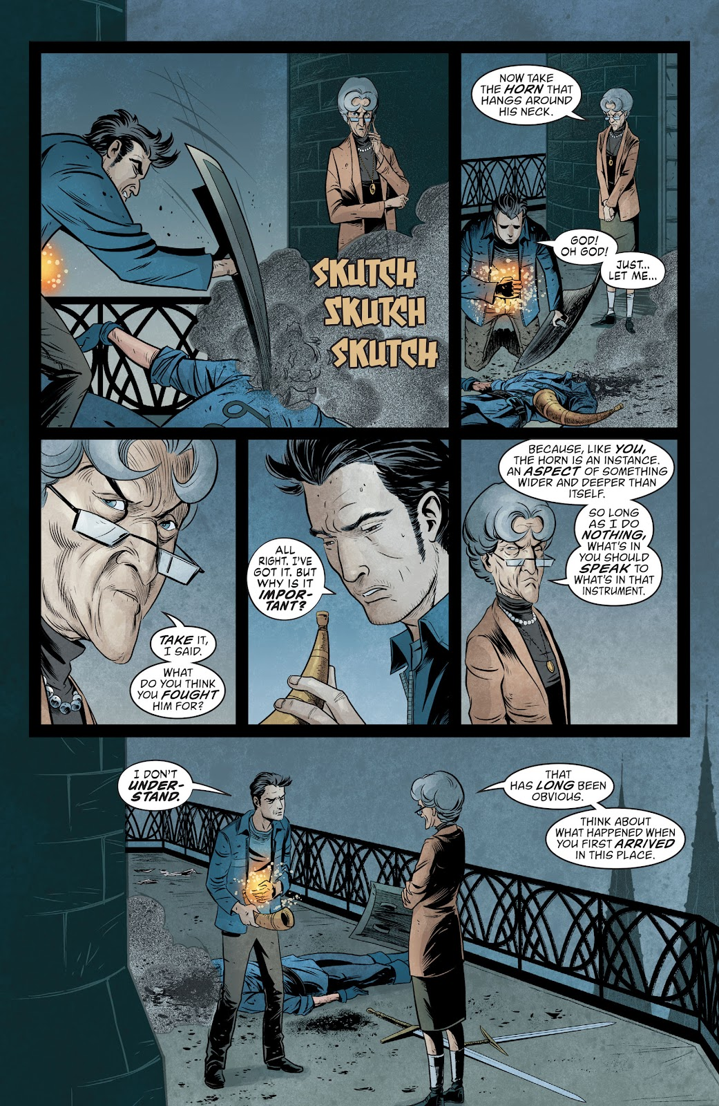 The Unwritten Issue #54 #60 - English 18