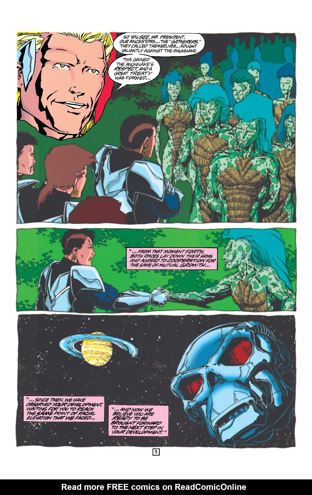 Aquaman (1994) Issue #24 #30 - English 6