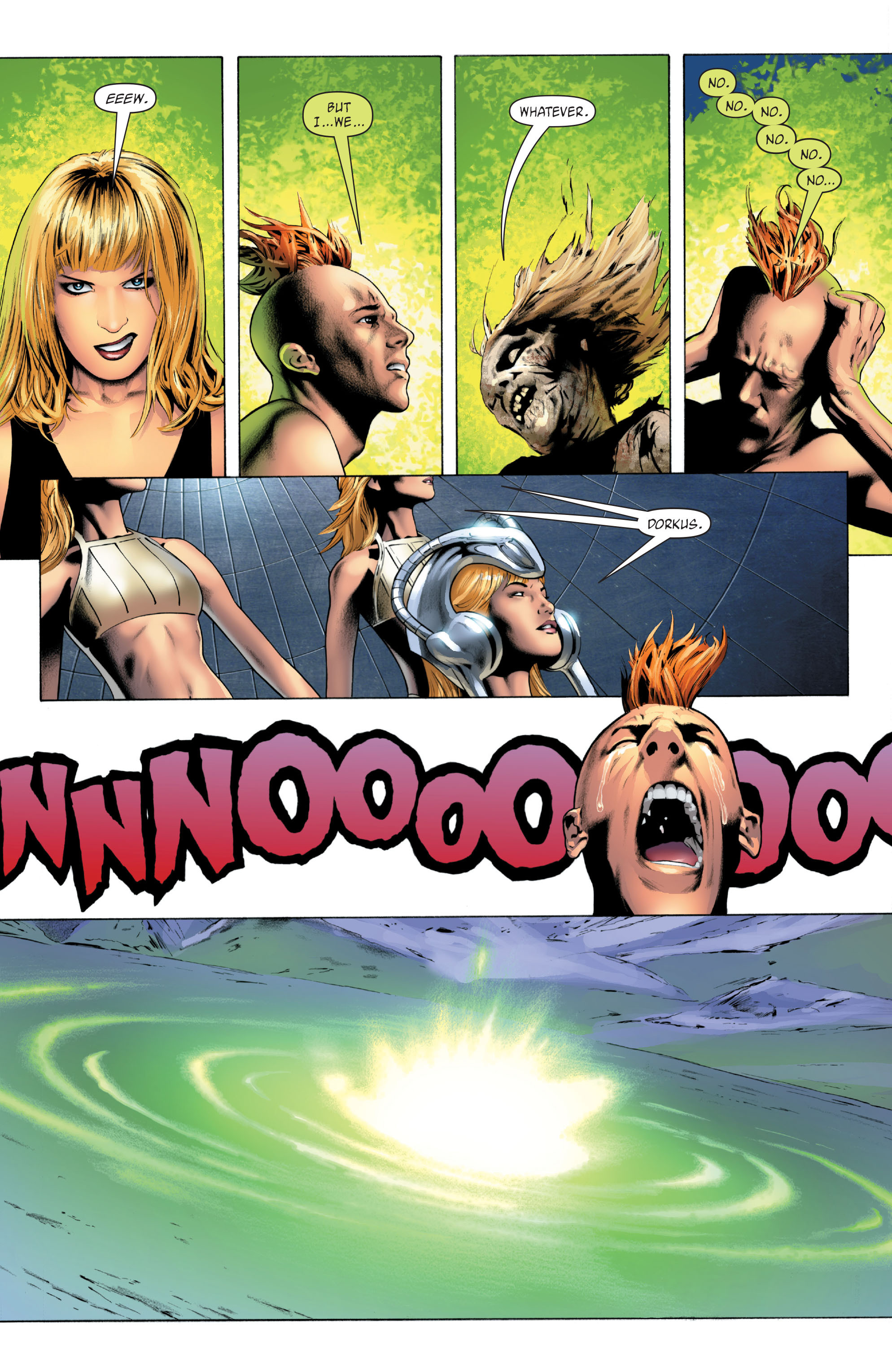 Read online X-Men: Phoenix - Endsong comic -  Issue #5 - 10