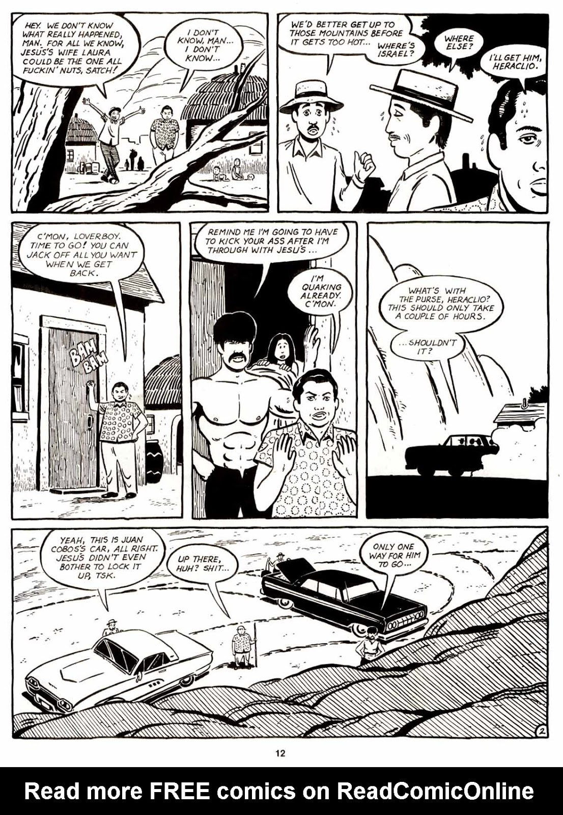 Love and Rockets (1982) Issue #9 #8 - English 14