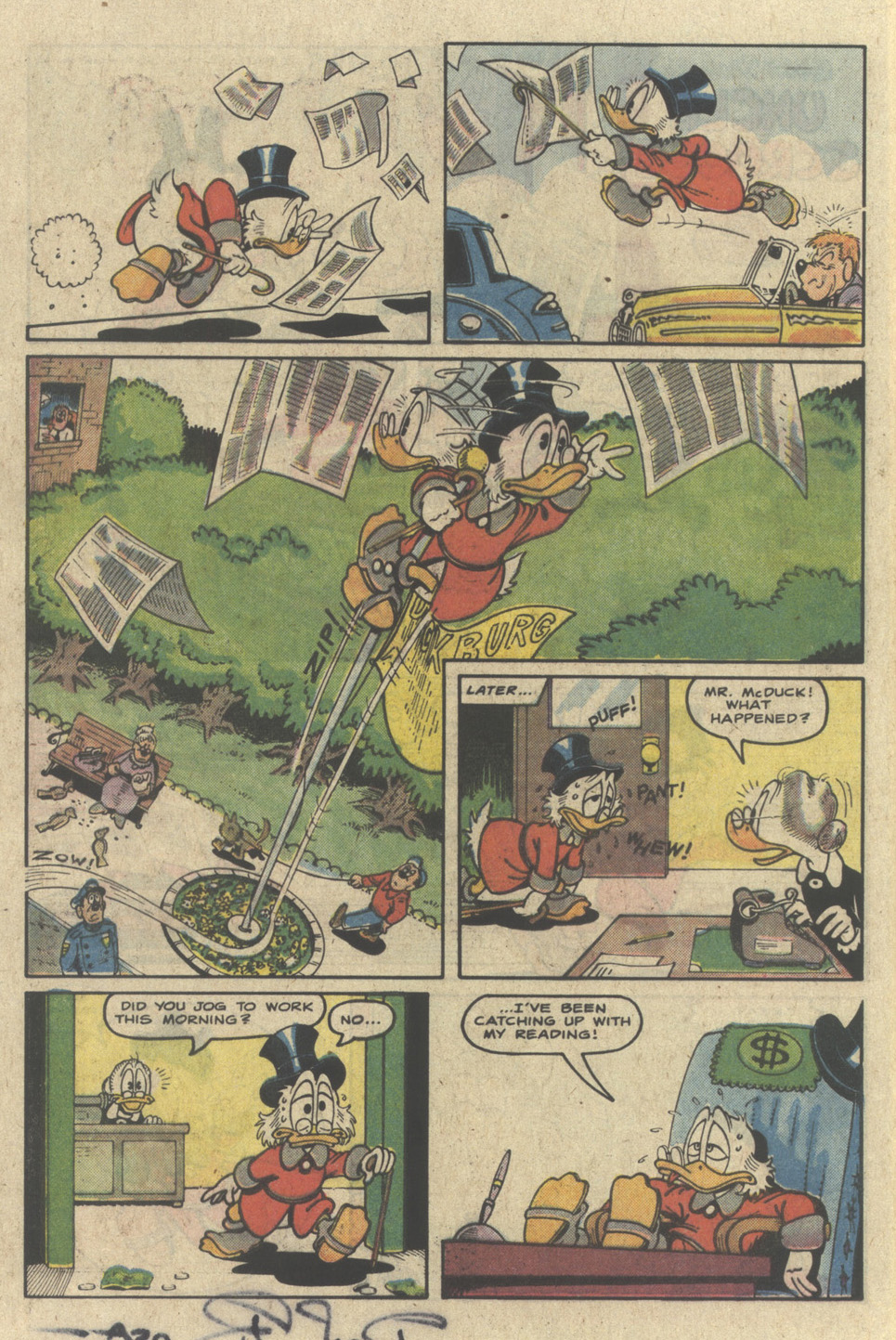 Uncle Scrooge (1953) Issue #226 #226 - English 16