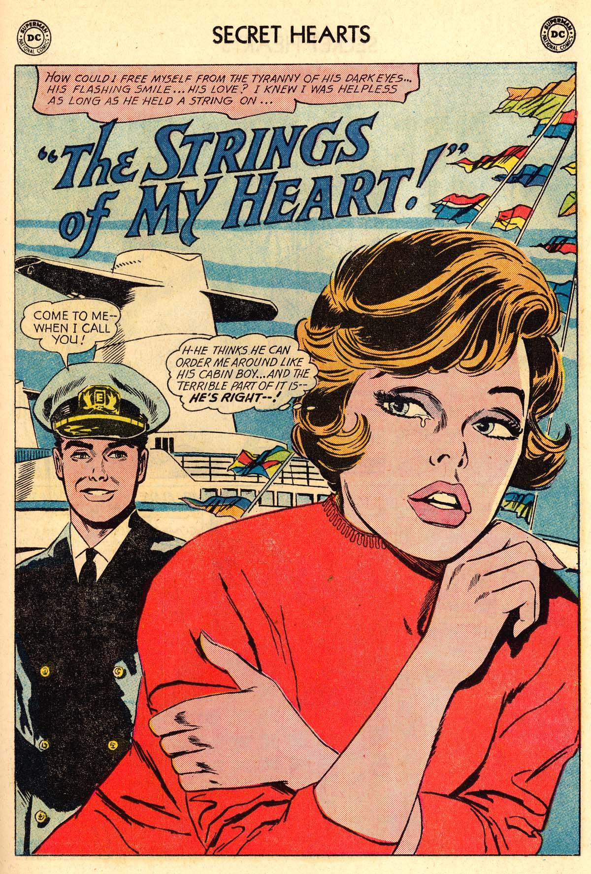 Read online Secret Hearts comic -  Issue #106 - 19