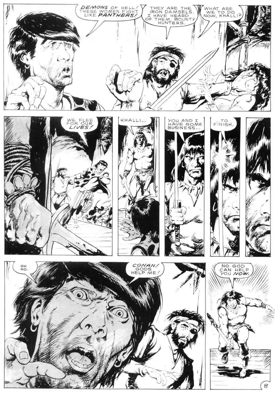 The Savage Sword Of Conan Issue #154 #155 - English 11