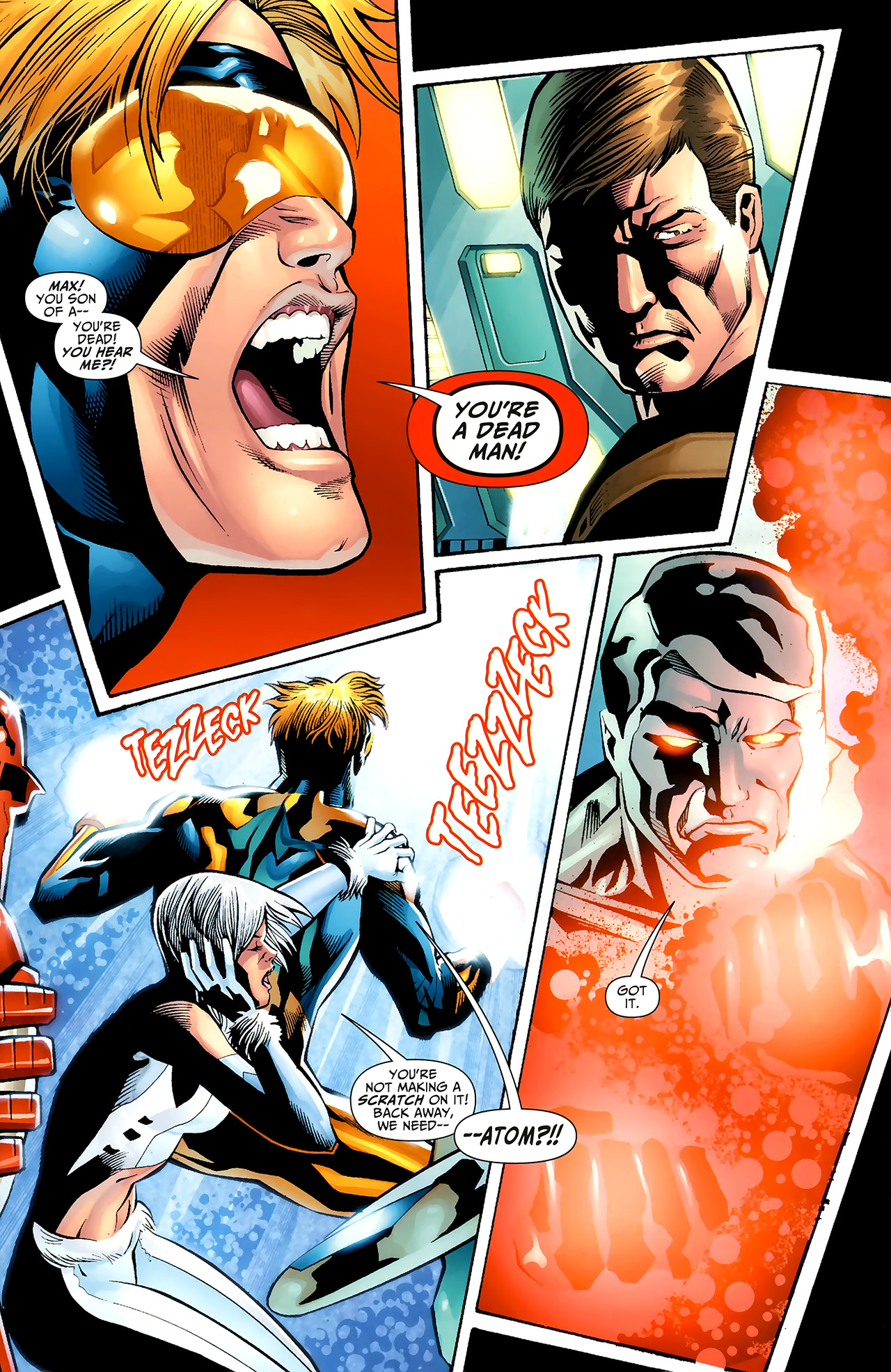 Read online Justice League: Generation Lost comic -  Issue #20 - 7