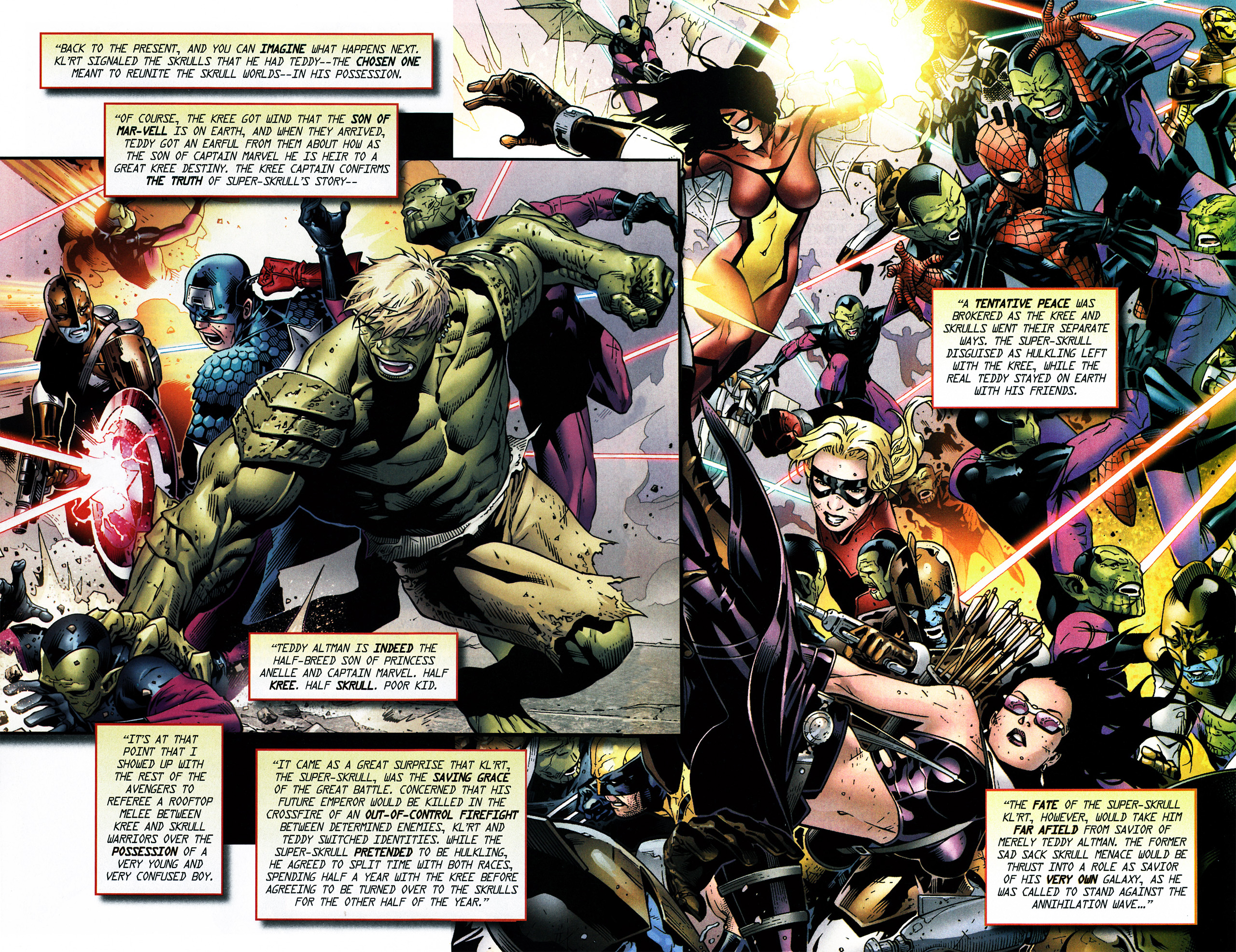 Read online Secret Invasion Saga comic -  Issue # Full - 22