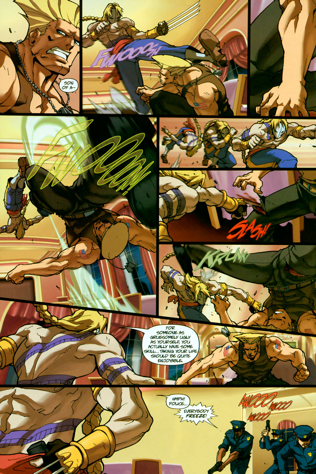 Street Fighter (2003) Issue #14 #15 - English 12
