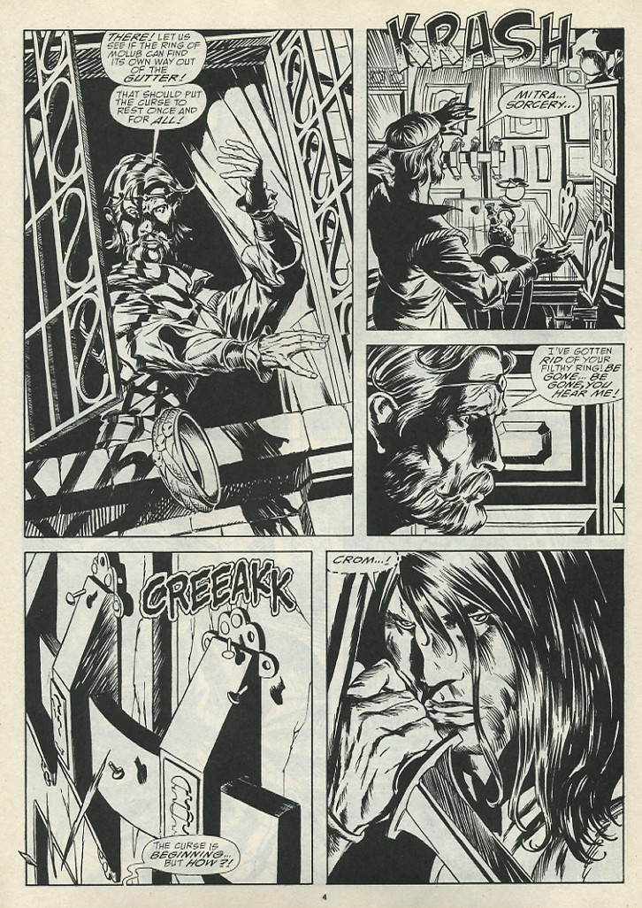 The Savage Sword Of Conan Issue #185 #186 - English 6
