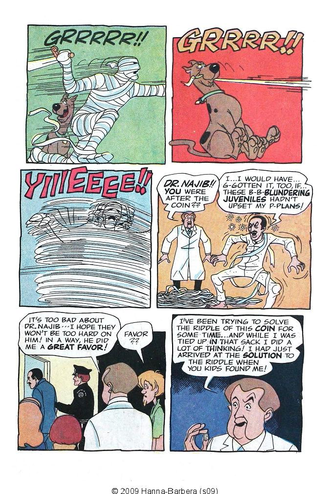 Read online Scooby-Doo... Where Are You! (1970) comic -  Issue #7 - 31