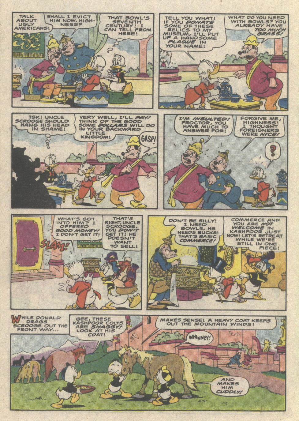 Uncle Scrooge (1953) Issue #223 #223 - English 18