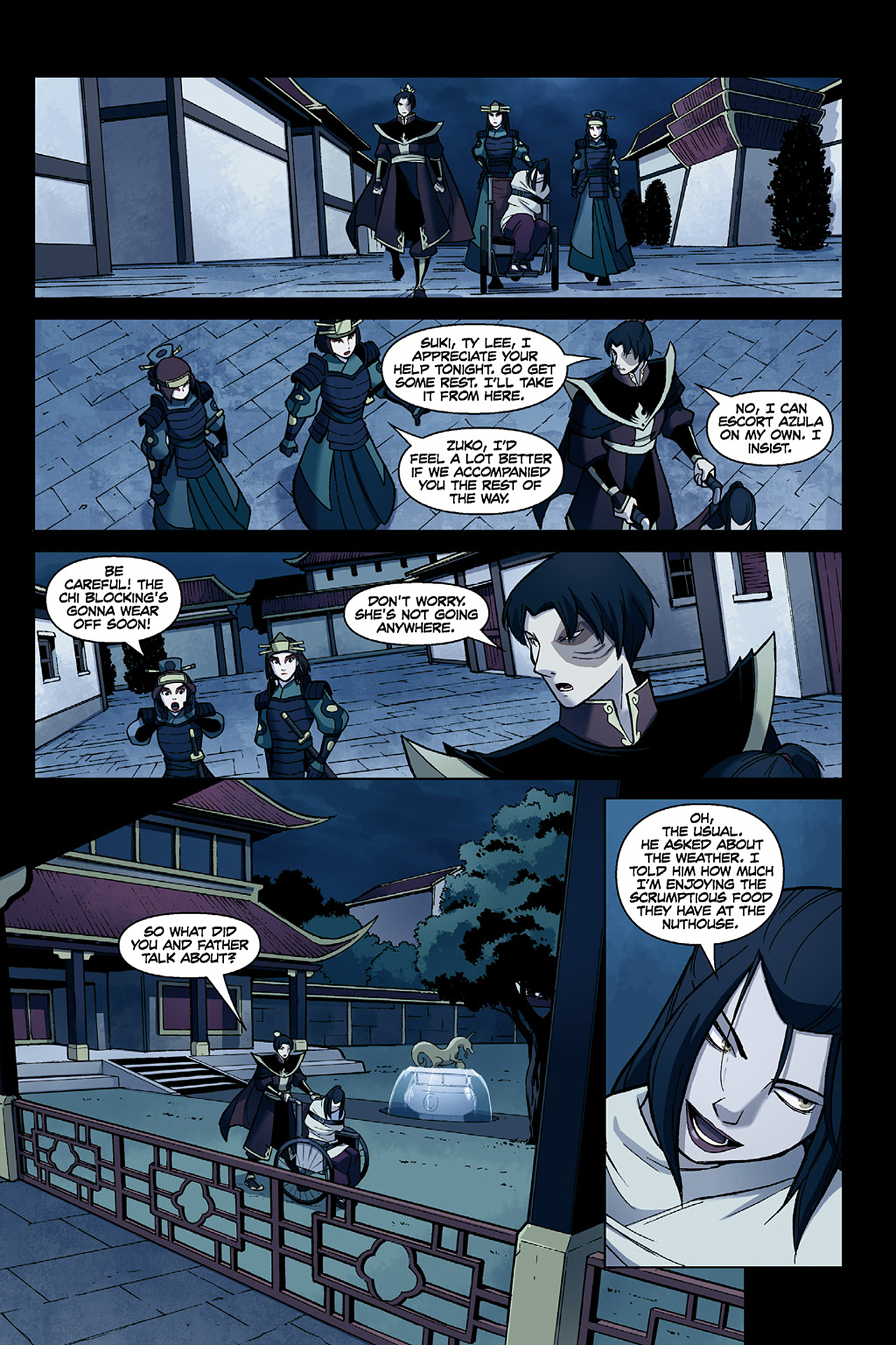 Read online Nickelodeon Avatar: The Last Airbender - The Search comic -  Issue # Part 1 - 25