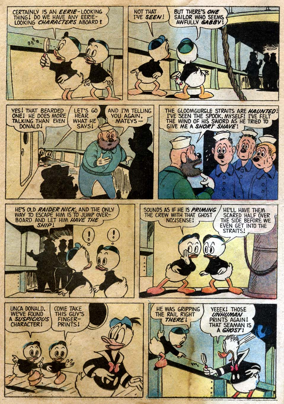 Uncle Scrooge (1953) Issue #23 #23 - English 16