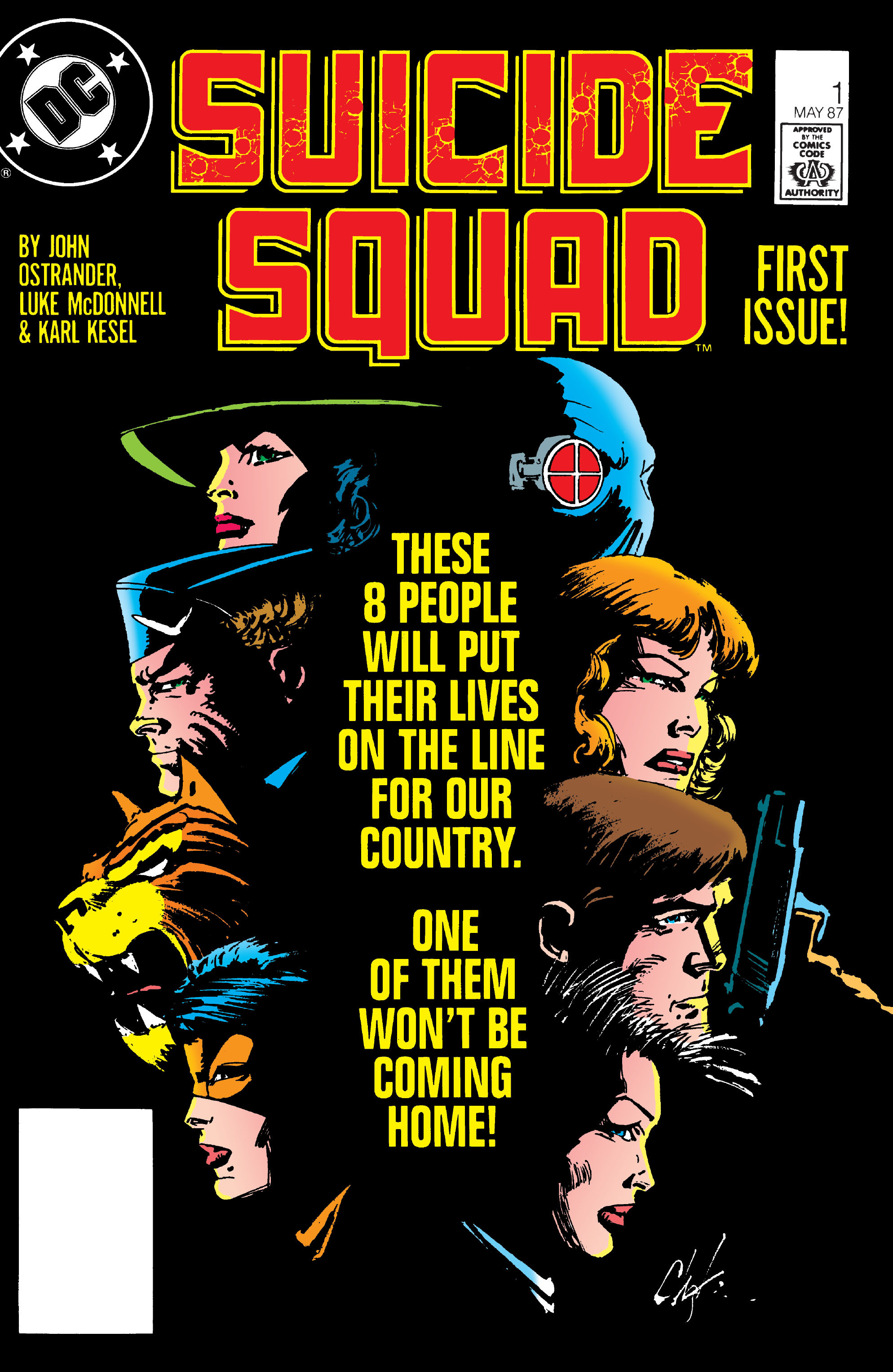 Suicide Squad (1987) issue 1 - Page 1