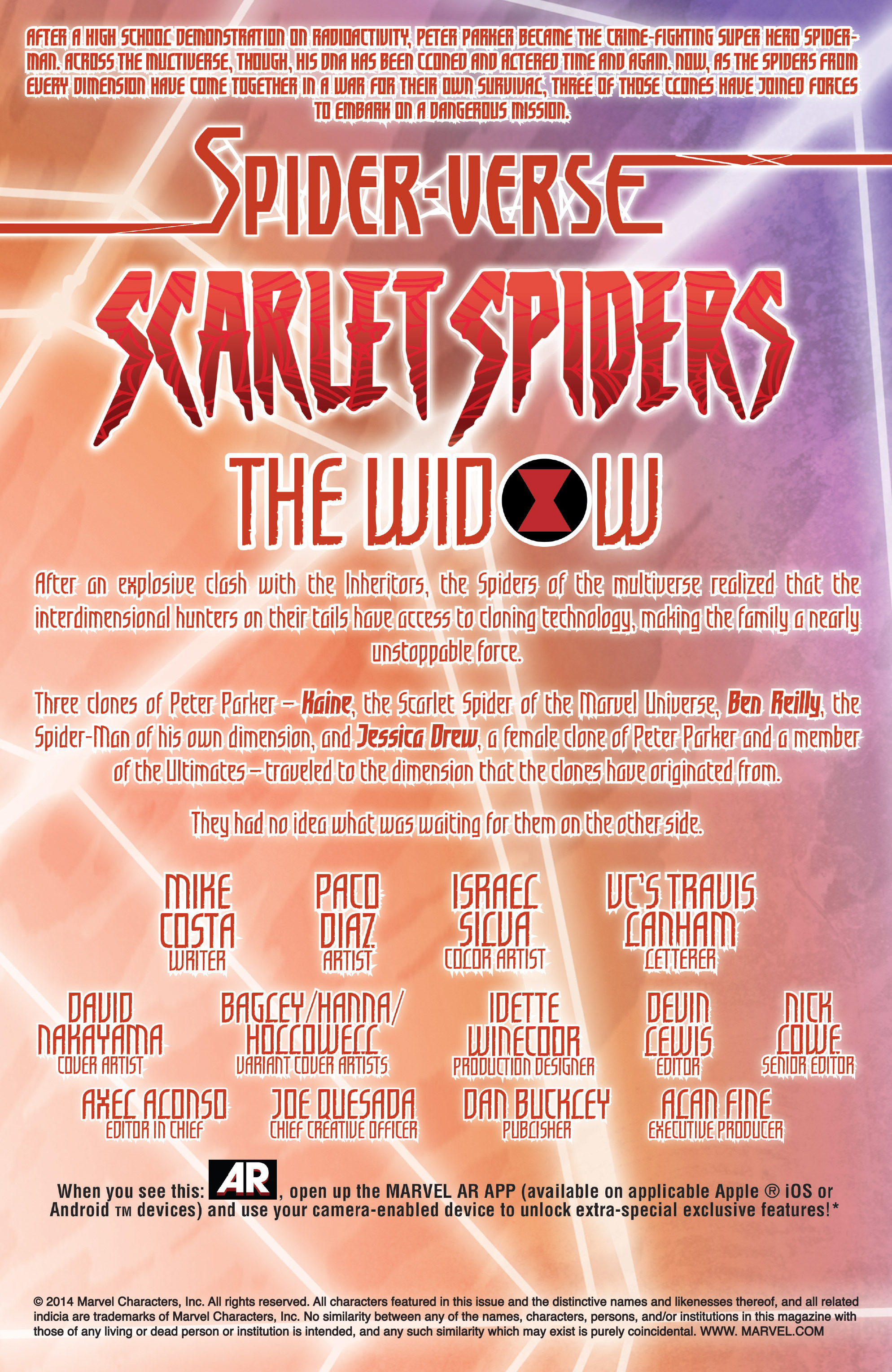 Read online Scarlet Spiders comic -  Issue #1 - 2