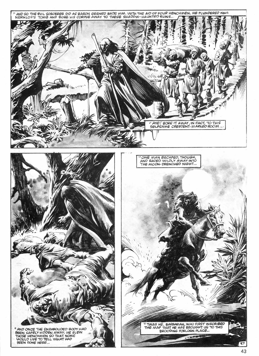 The Savage Sword Of Conan Issue #98 #99 - English 43