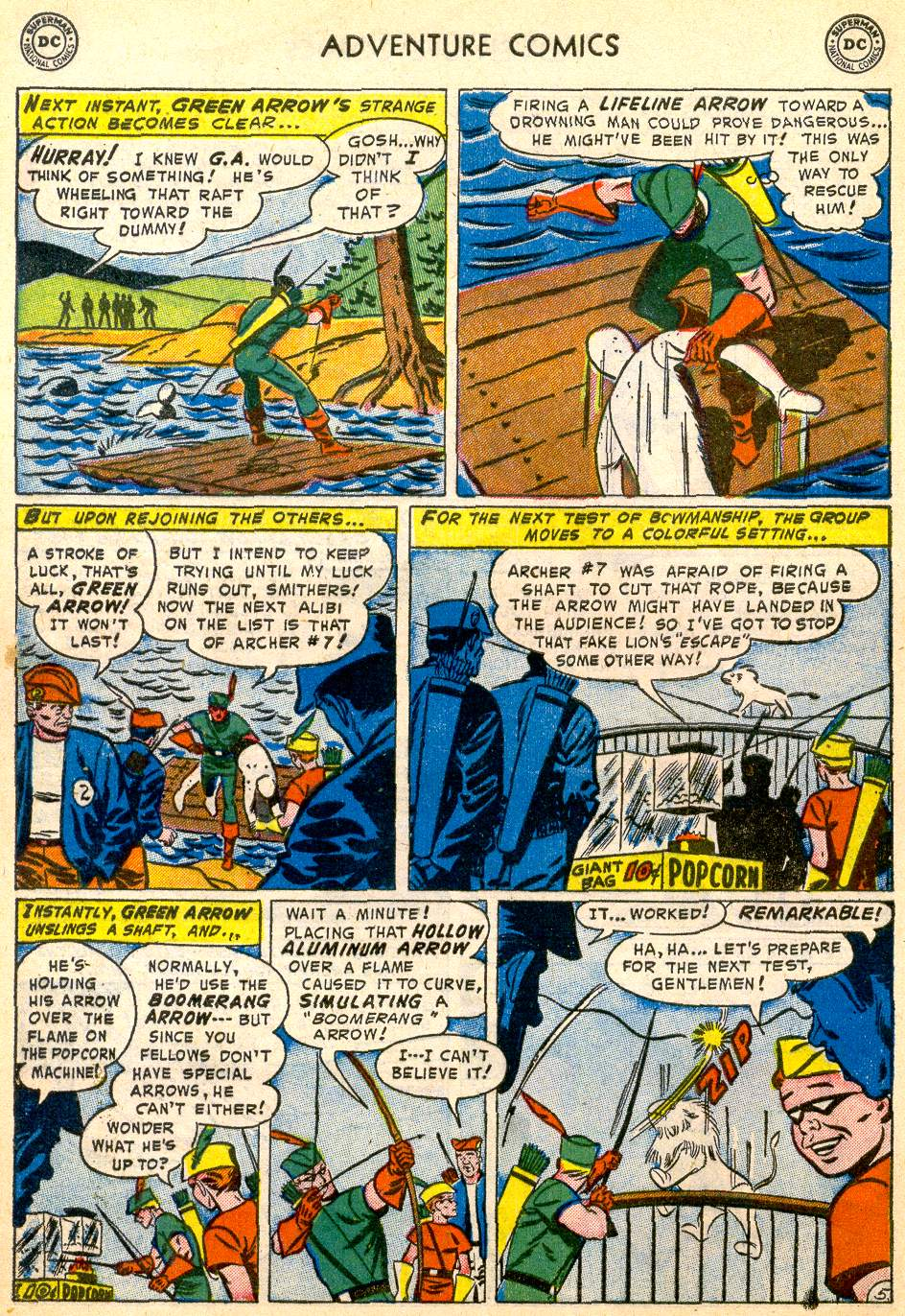 Read online Adventure Comics (1938) comic -  Issue #192 - 38