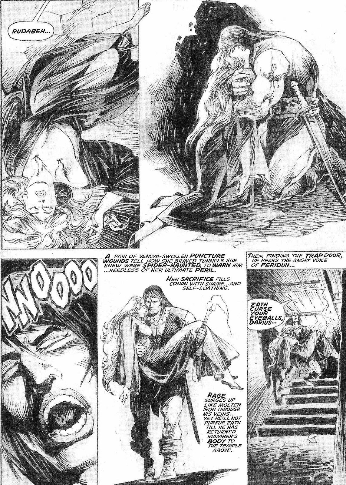 The Savage Sword Of Conan Issue #210 #211 - English 26
